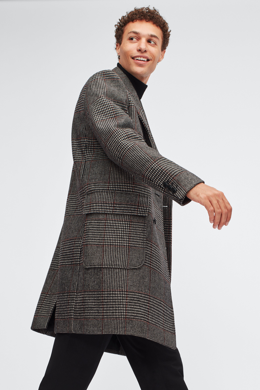 Italian Wool Double Breasted Topcoat