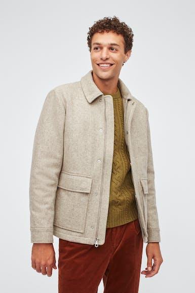 Wool Bomber
