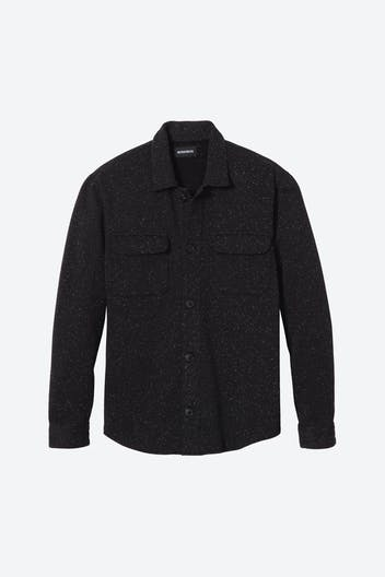 Fleece Shirt Jacket