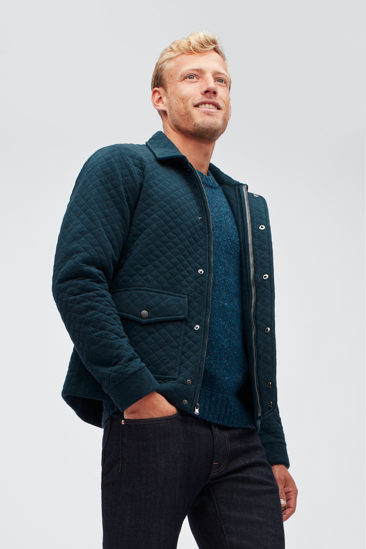 Fleece Quilted Jacket