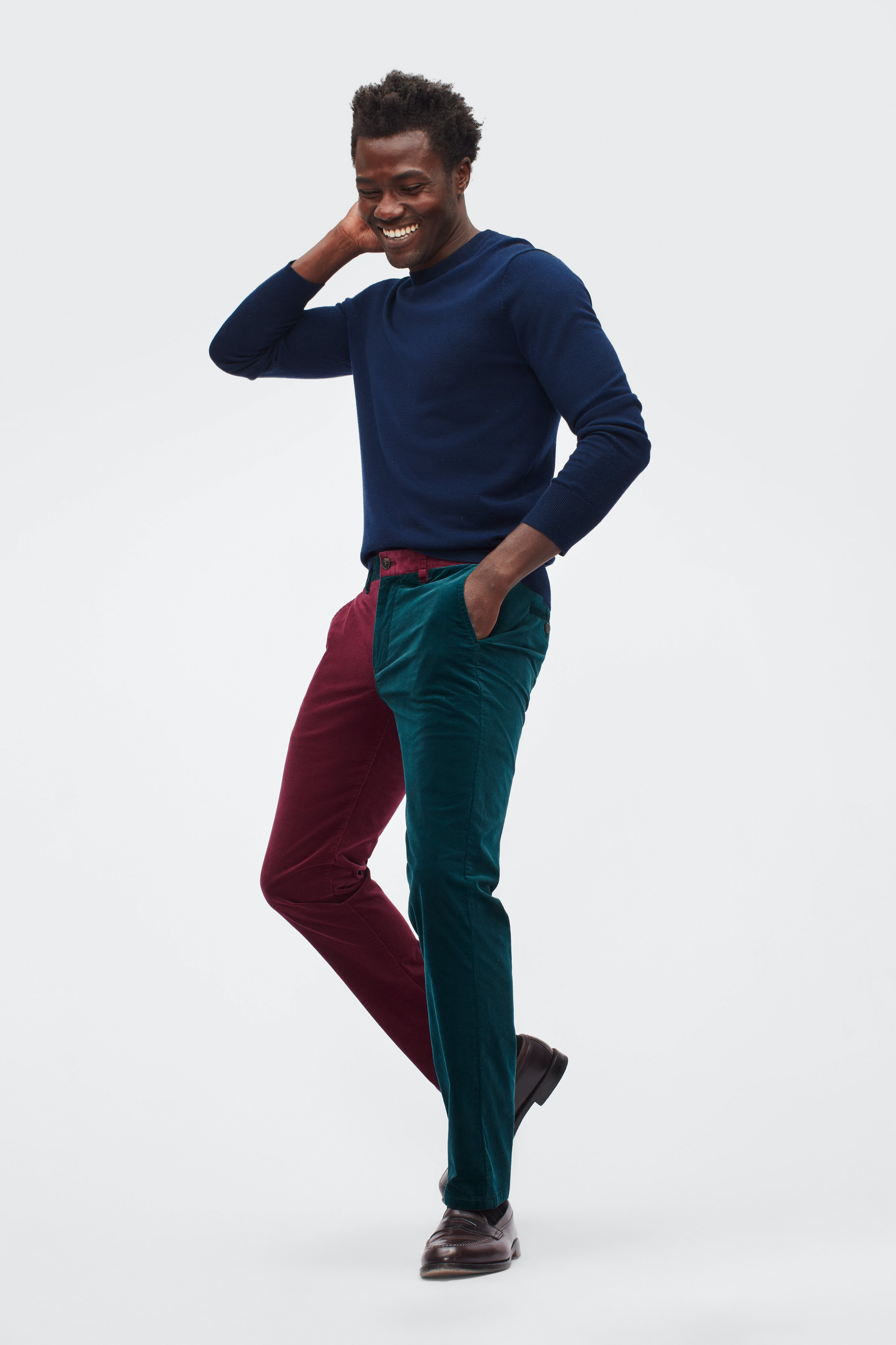 Holiday Stretch Corduroy Pants
