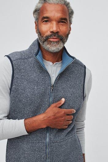 Daily Grind Reversible Fleece Vest