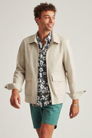 The Stretch Cotton Deck Jacket