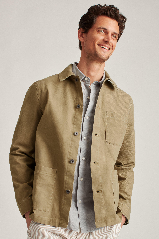 Stretch Cotton Chore Jacket