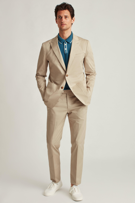 Italian Stretch Cotton Suit