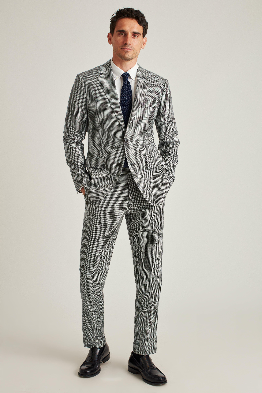 Italian Stretch Wool Flannel Suit