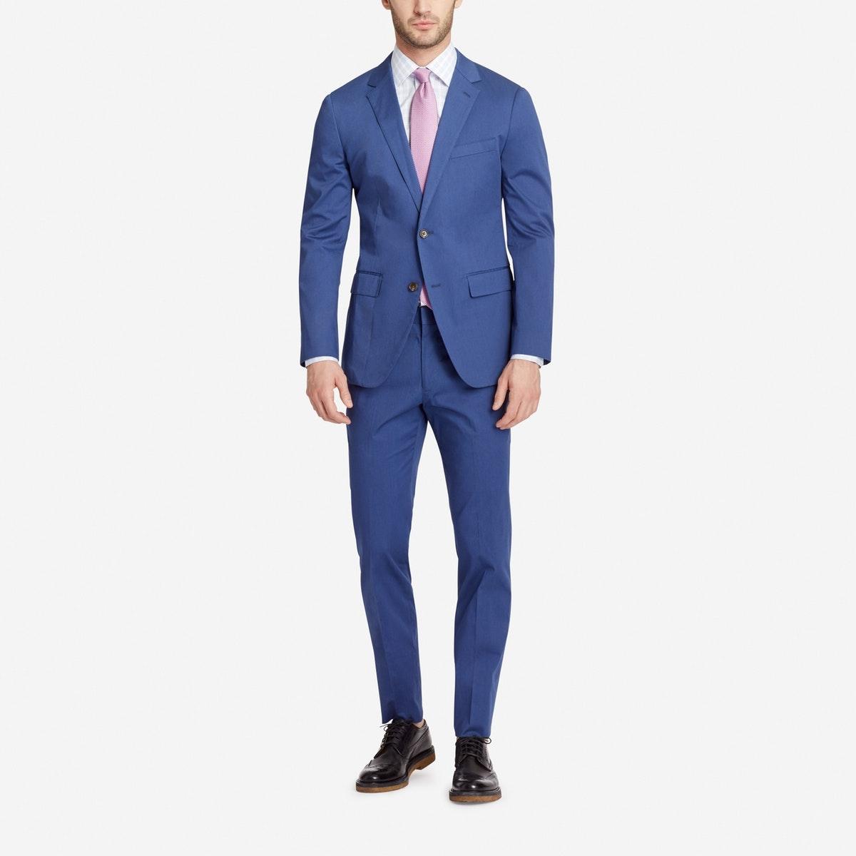 Jetsetter Stretch Italian Cotton Suit