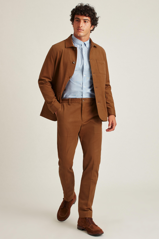 Sueded Cotton Chore Suit