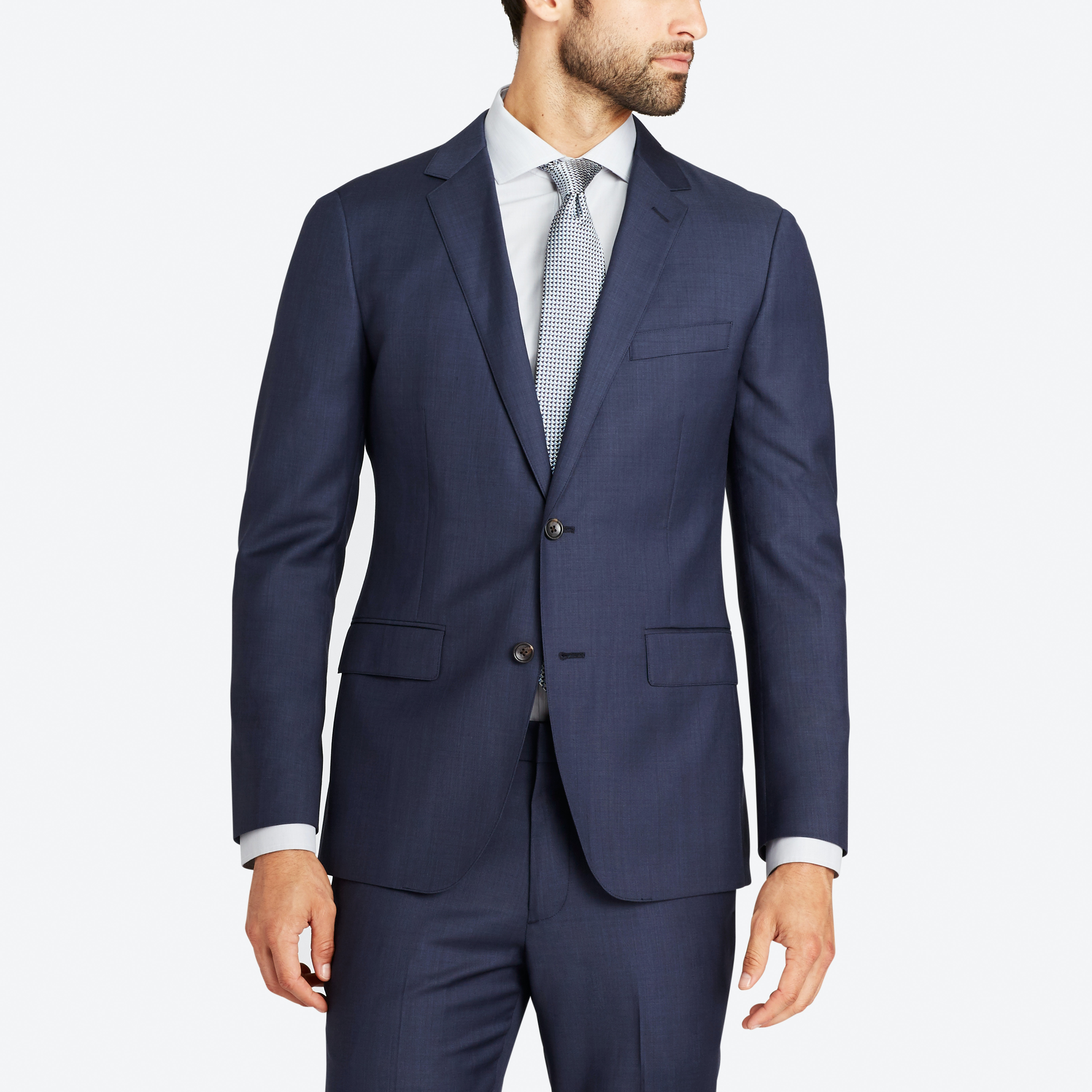 Foundation Italian Wool Suit Jacket thumbnail