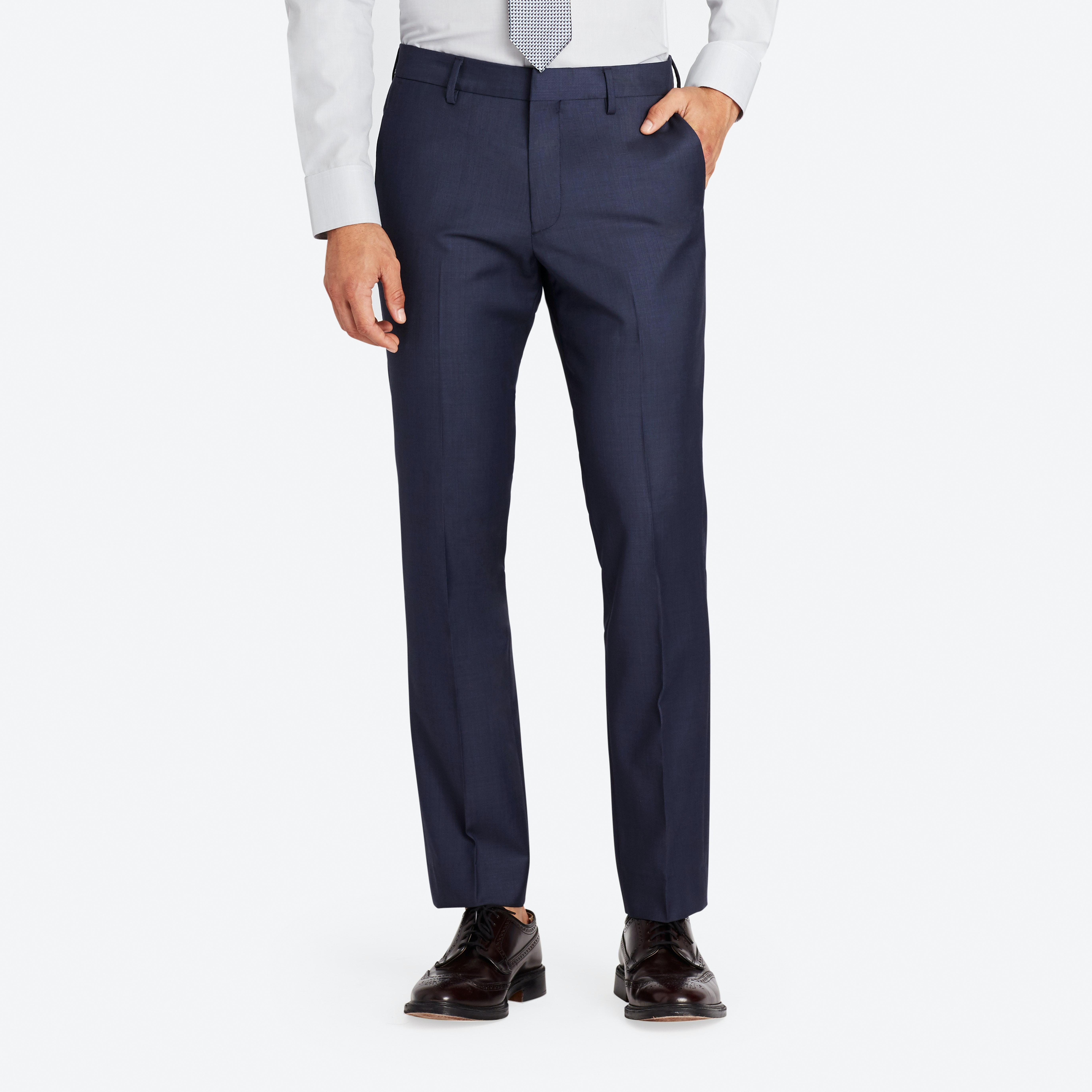 Foundation Italian Wool Suit Pant thumbnail