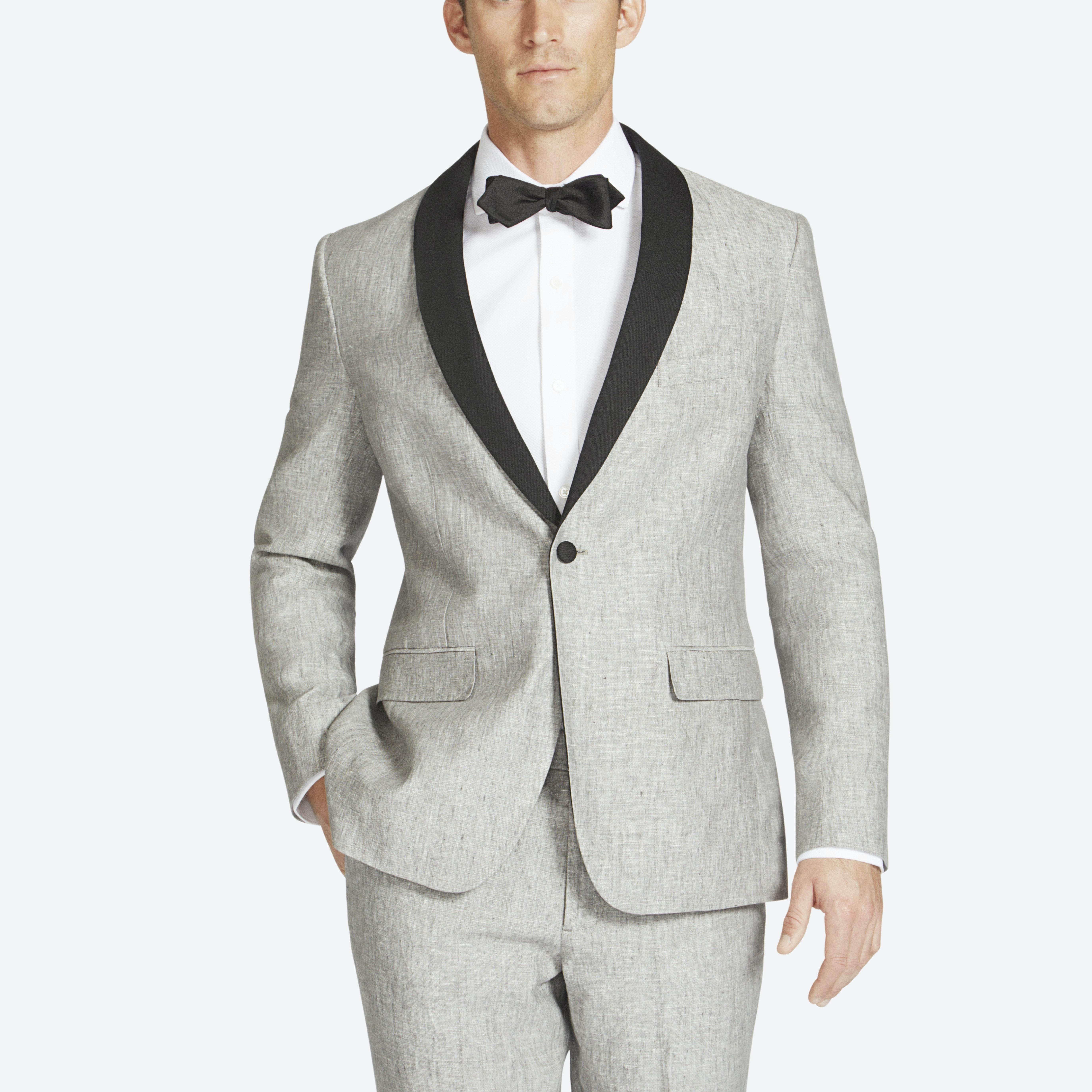 The Capstone Linen Tuxedo Jacket thumbnail
