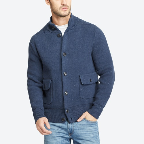 Cotton Sweater Jacket | Bonobos