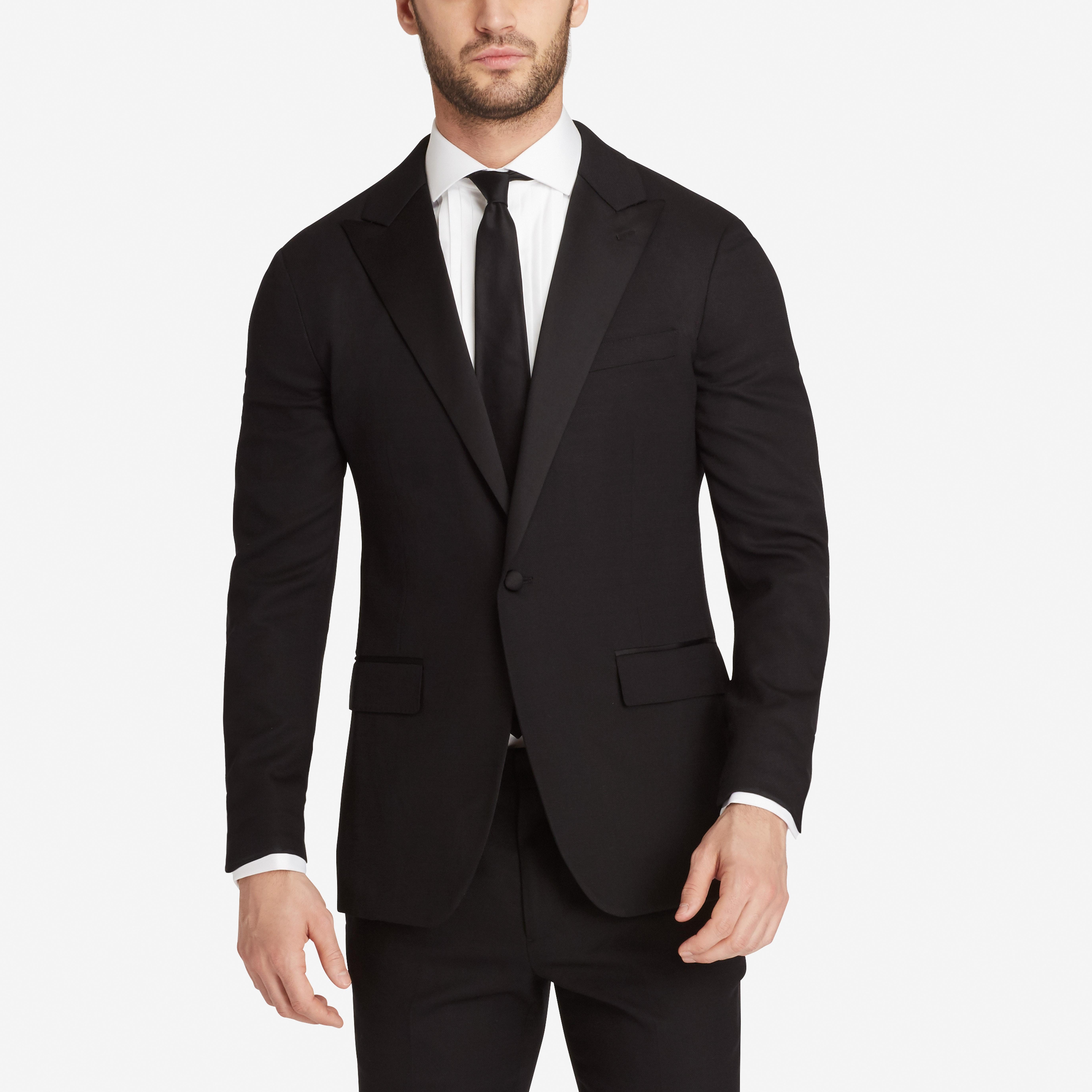 Lightweight Wool Tuxedo Jacket thumbnail