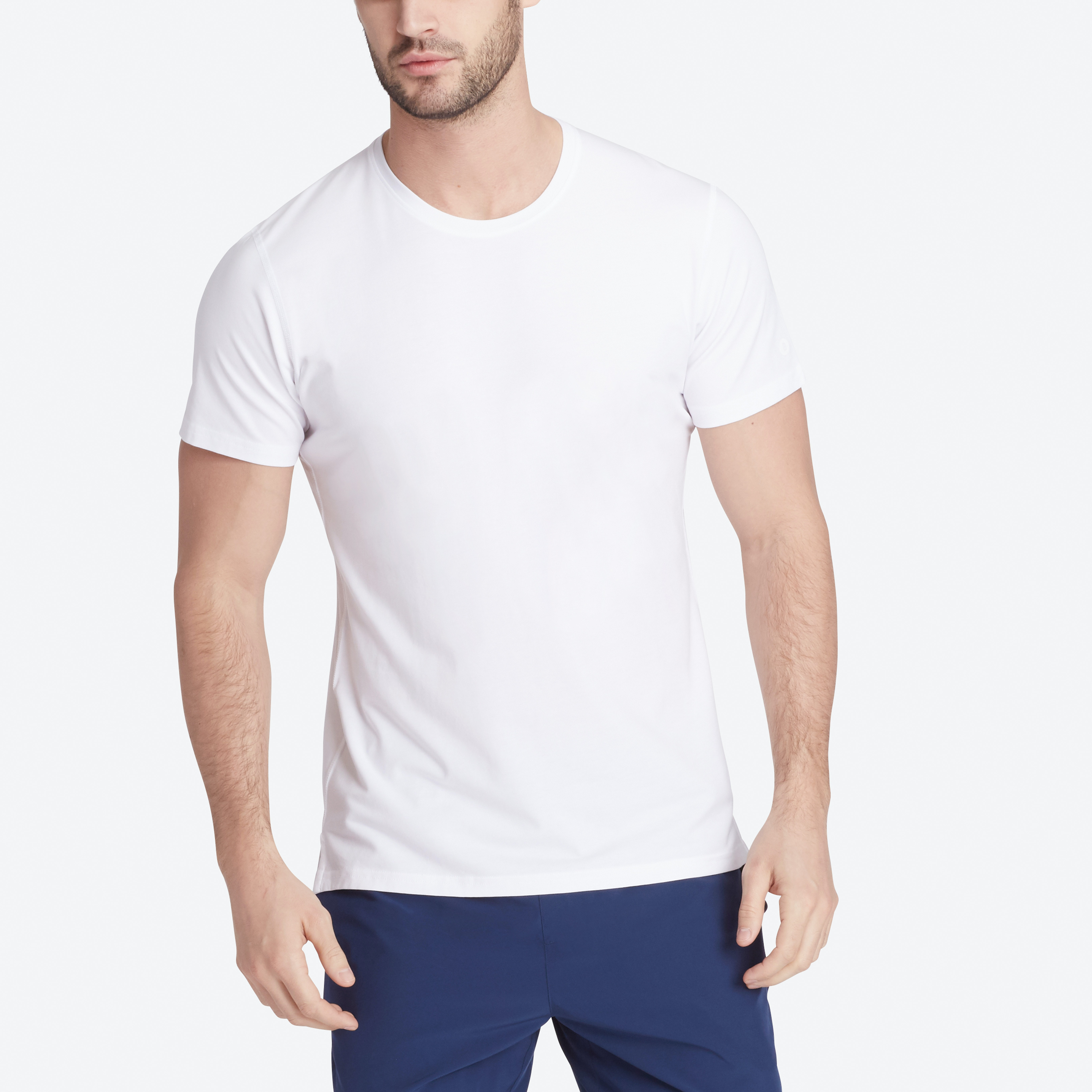 Stretch Pima Tee