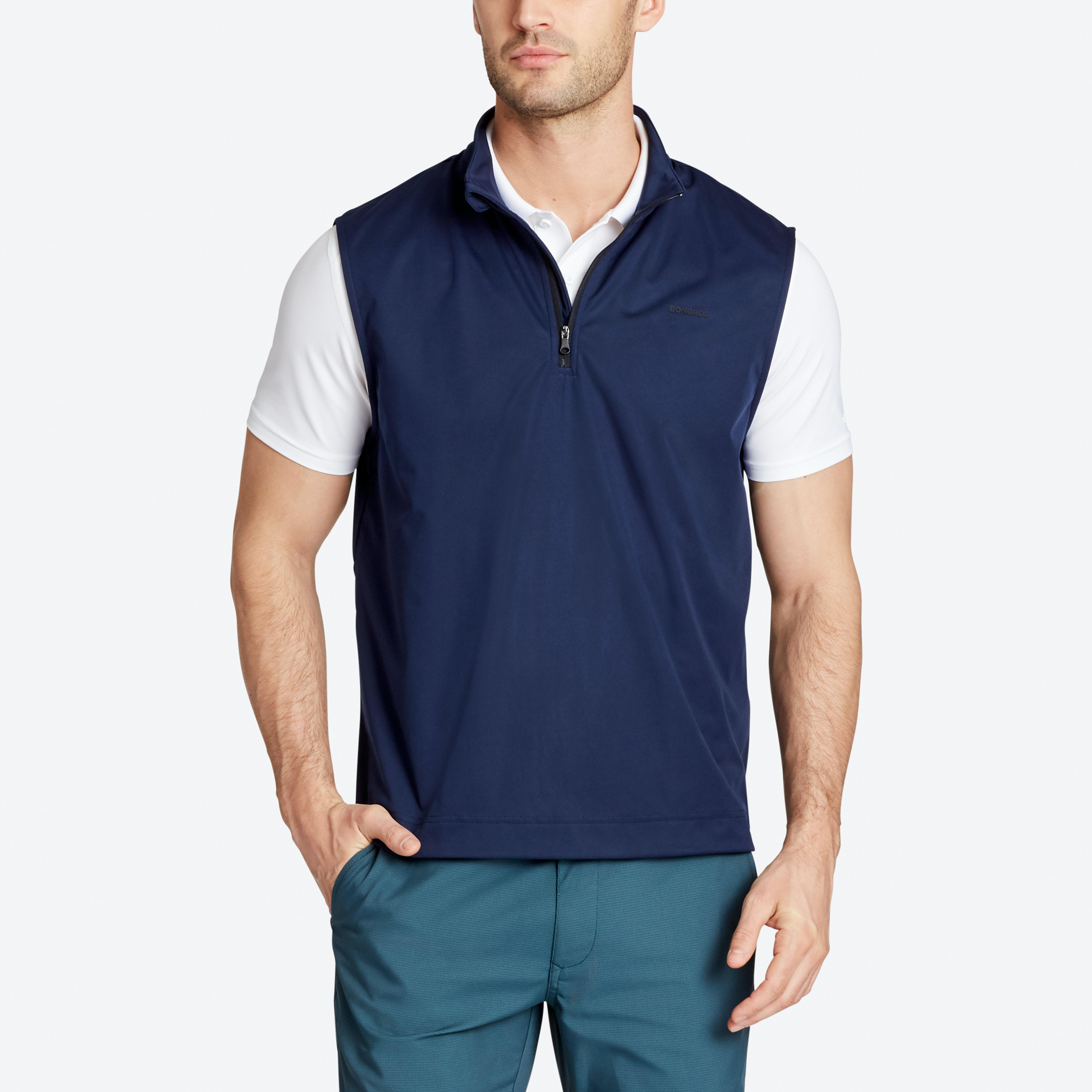 Shop Men's Golf Vests, Half Zips and Golf Sweaters | Bonobos
