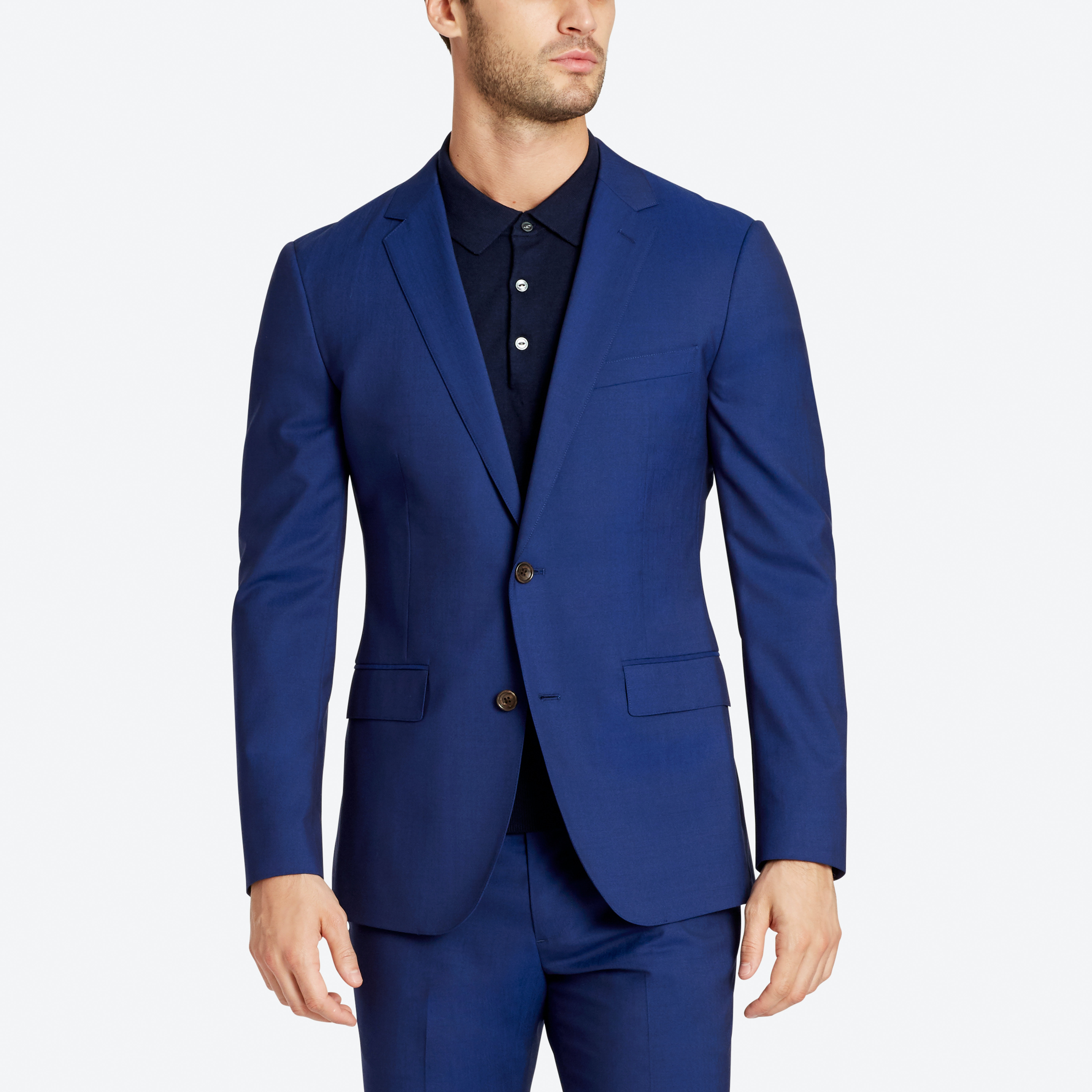 Jetsetter Stretch Italian Wool Suit Jacket thumbnail