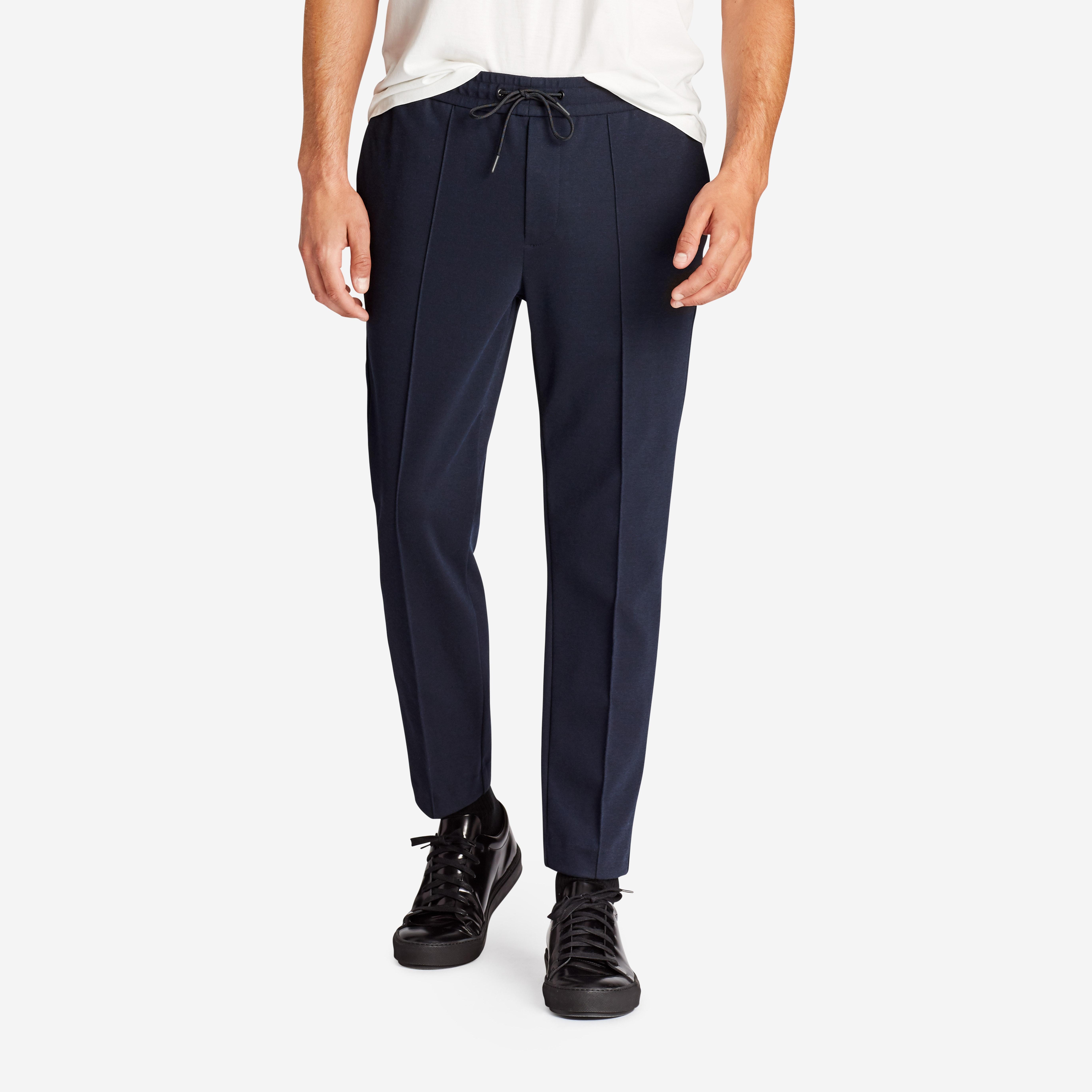 E-Waist Cotton Trouser