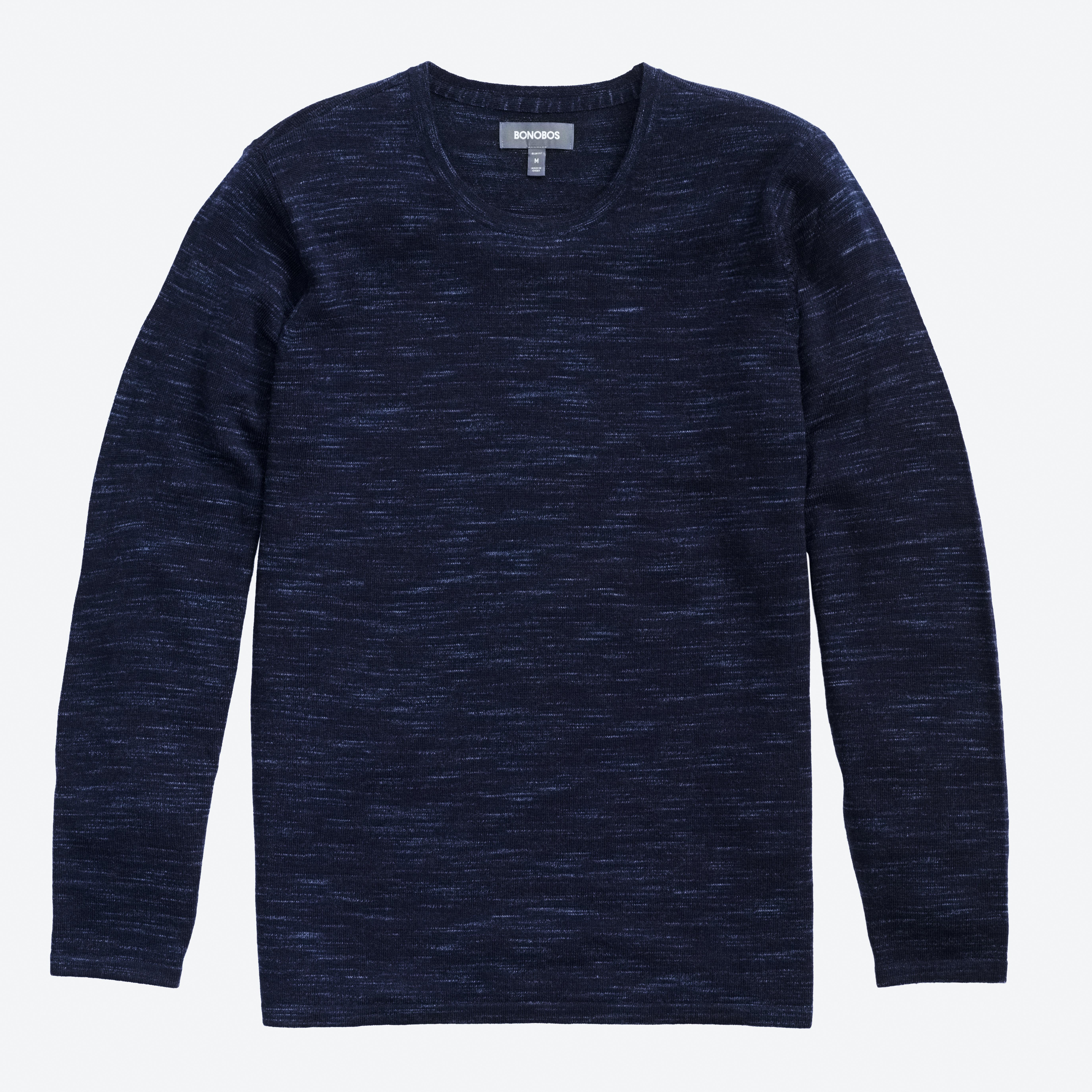 Merino Long Sleeve Sweater Tee
