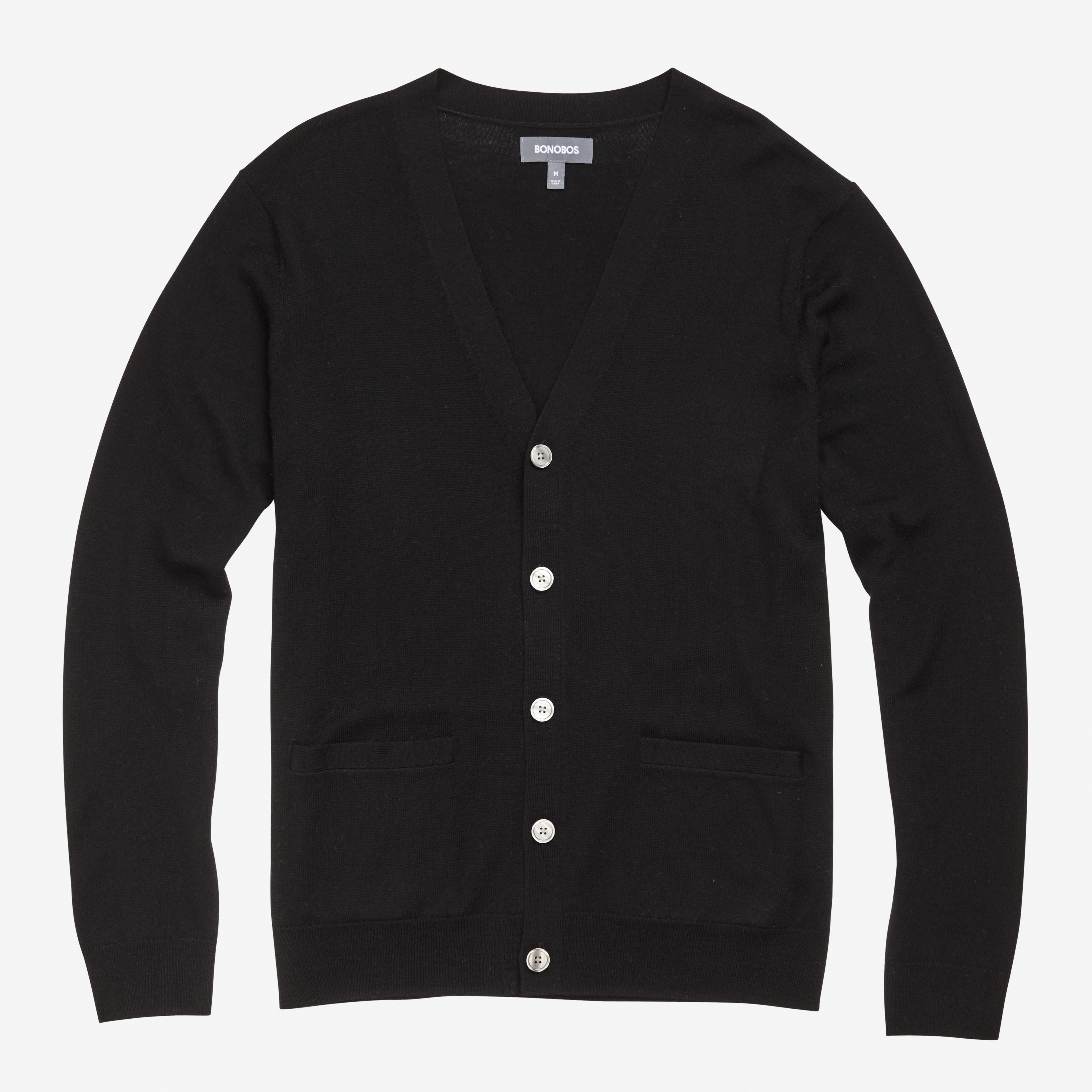 Relaxed Merino Sweater Cardigan