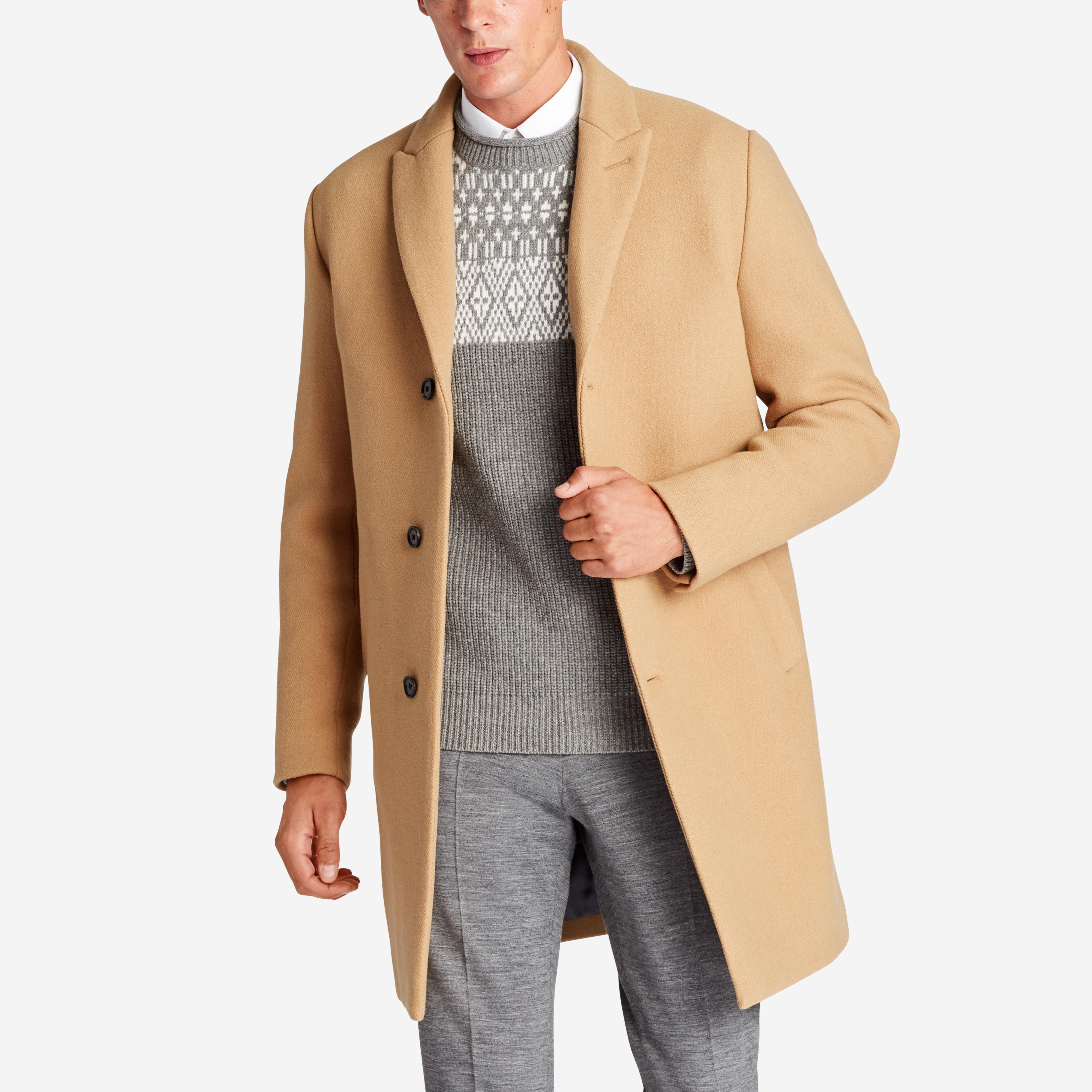 The Stretch Italian Wool Topcoat
