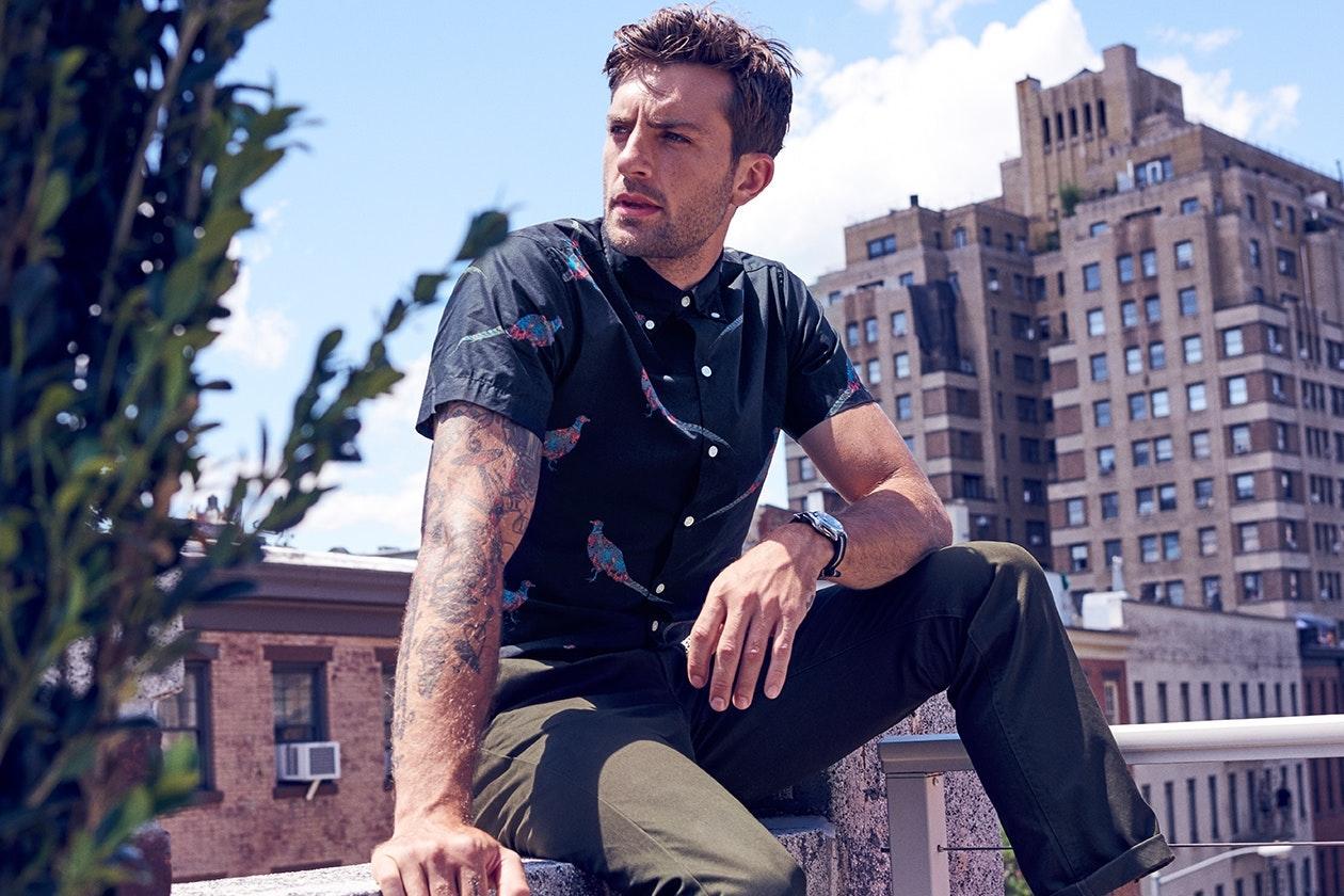 Short Sleeve Shirts Hero Image