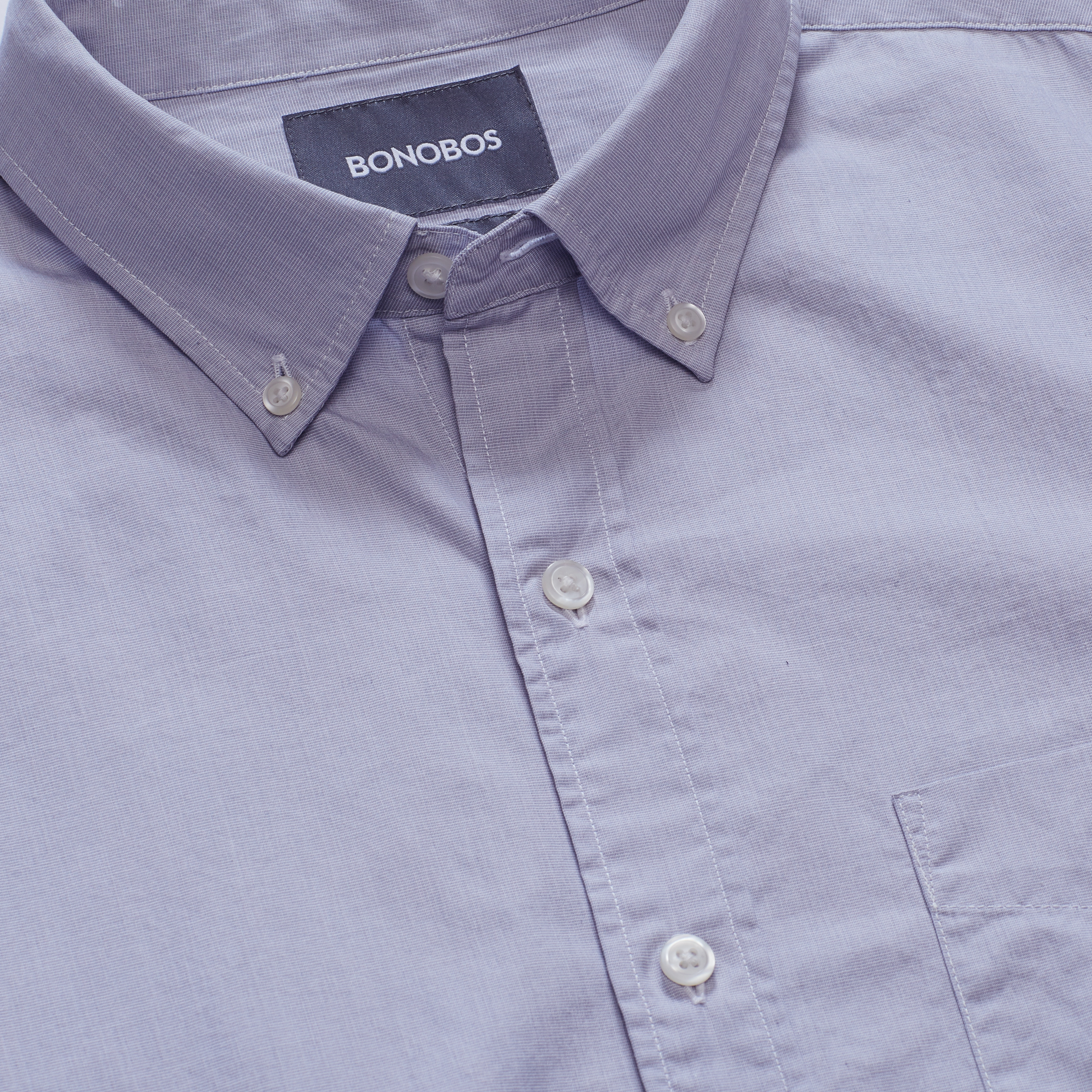 Washed Button-Down