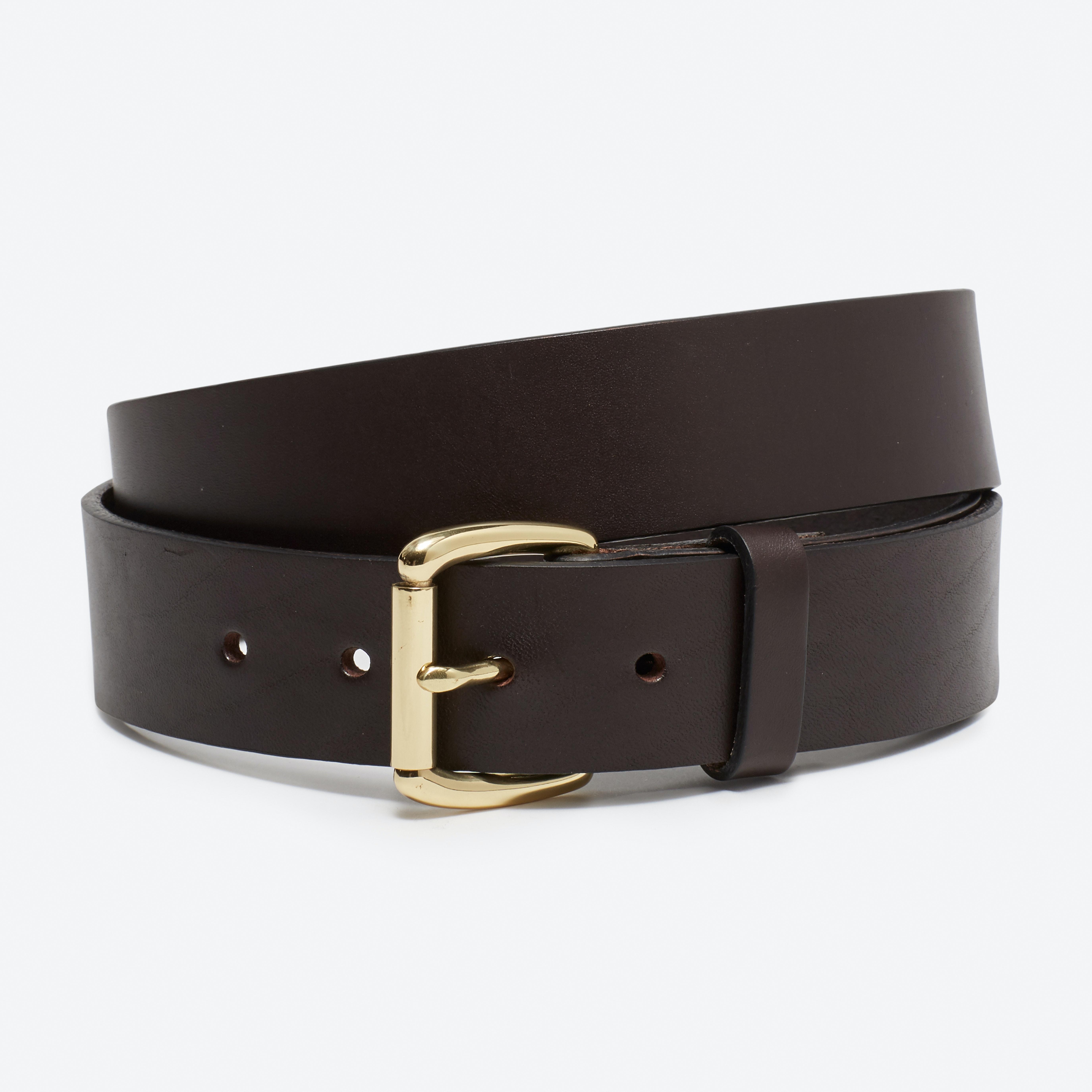 Leather Jeans Belt