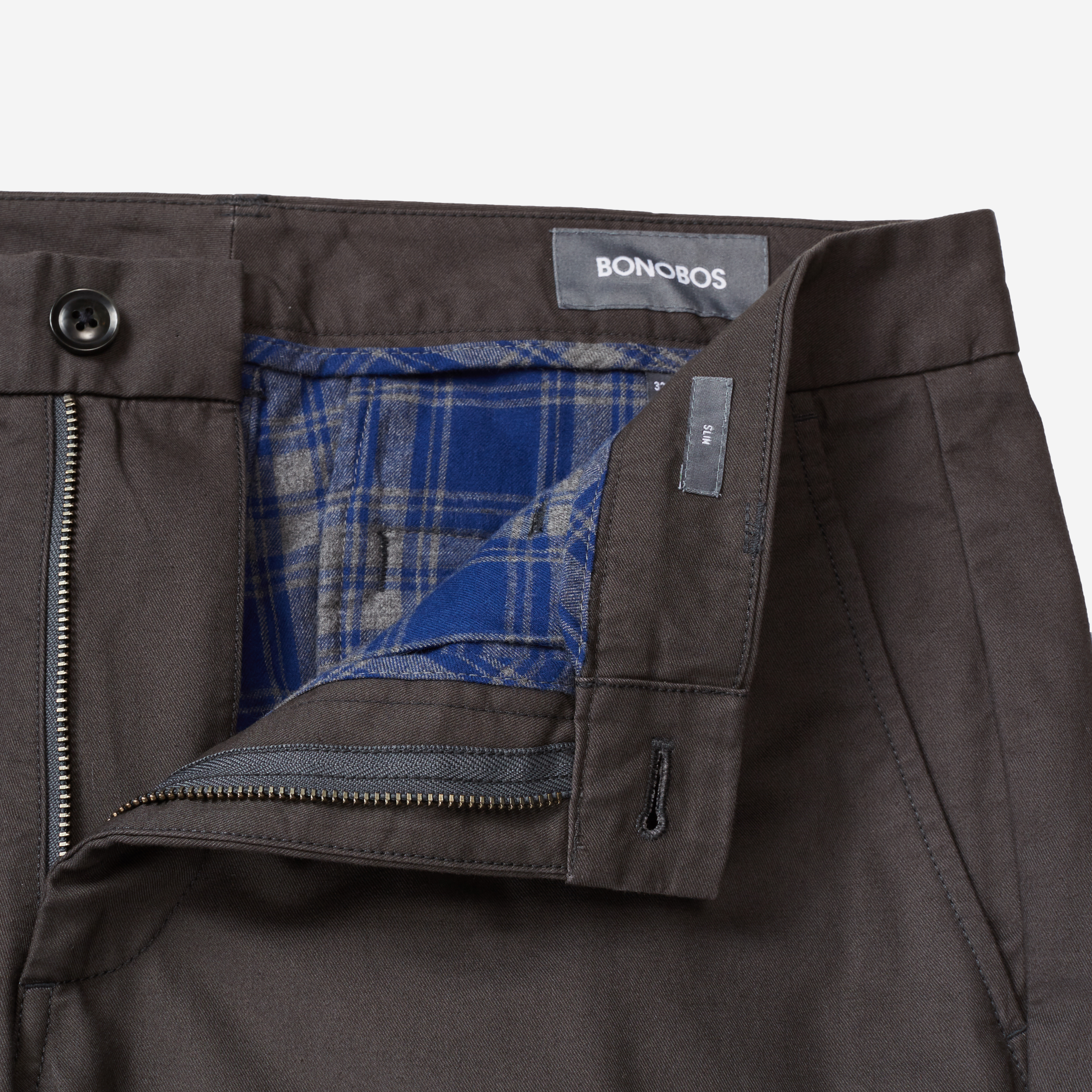 Bonobos Flannel-Lined Pants