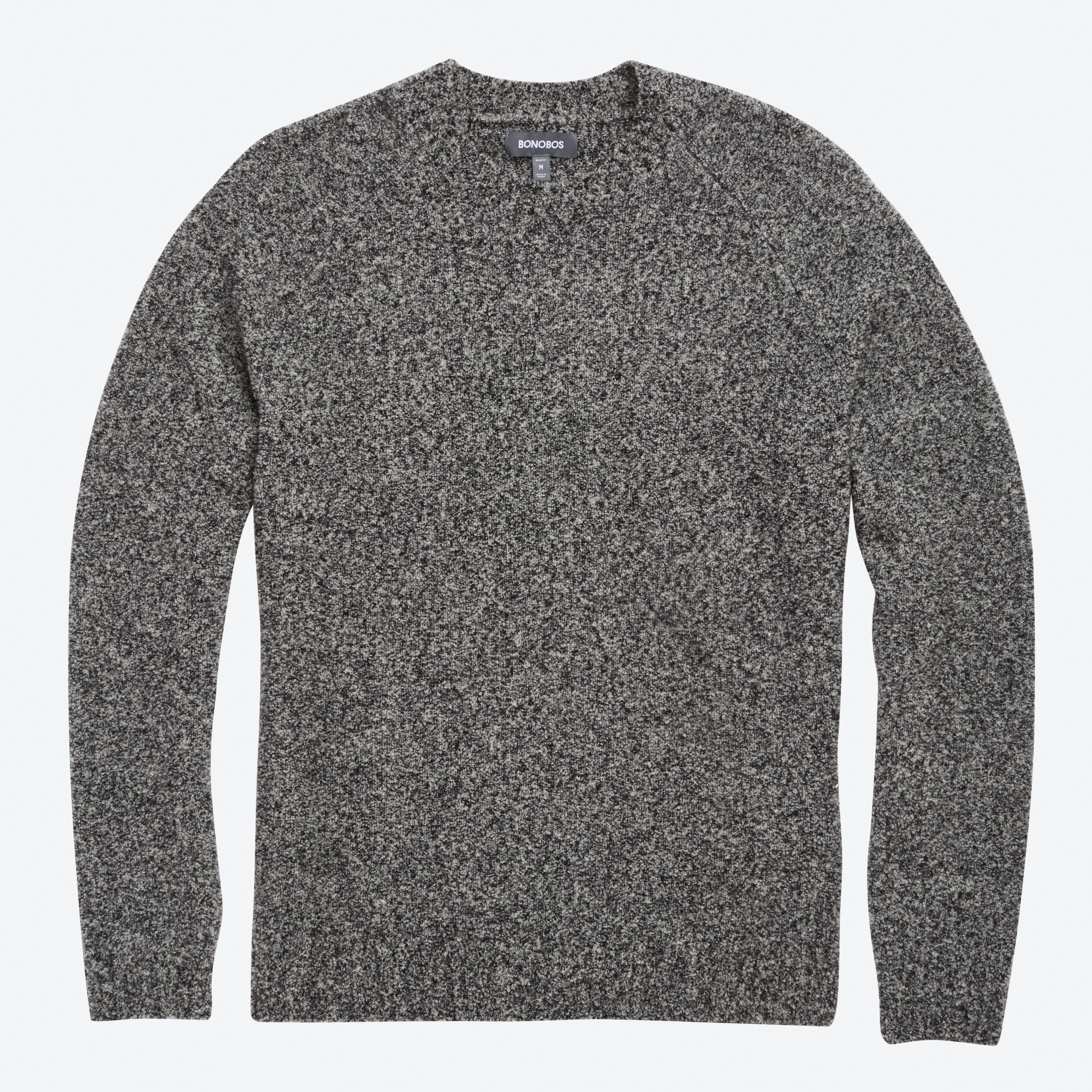 Boucle Crew Neck Sweater