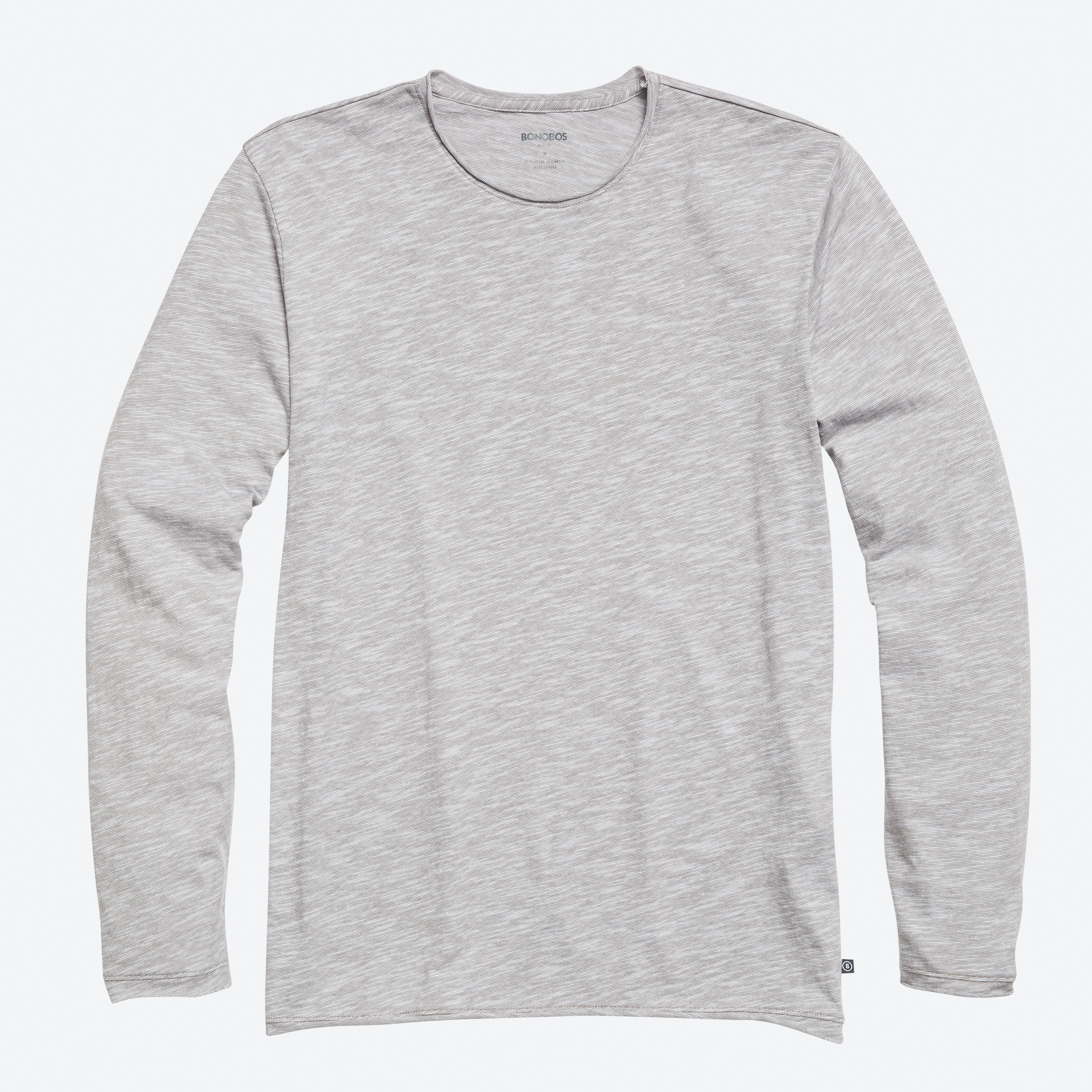 Slub Jersey Long Sleeve Tee