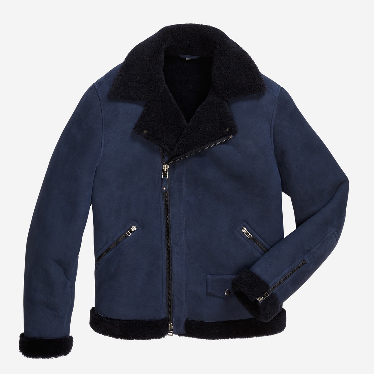 The Shearling Leather Bomber Jacket | Bonobos