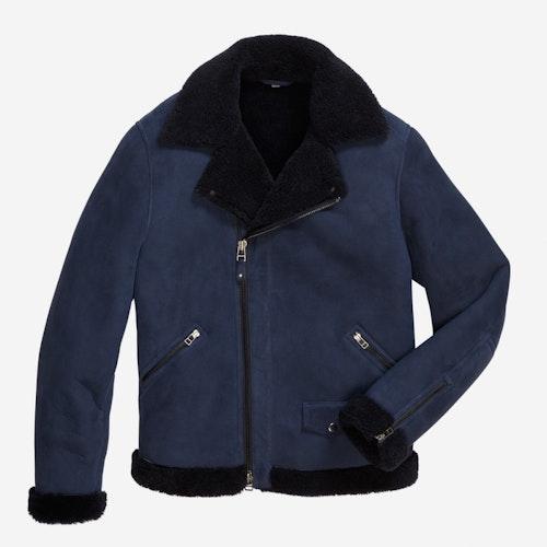 The Shearling Leather Bomber Jacket | Bonobos