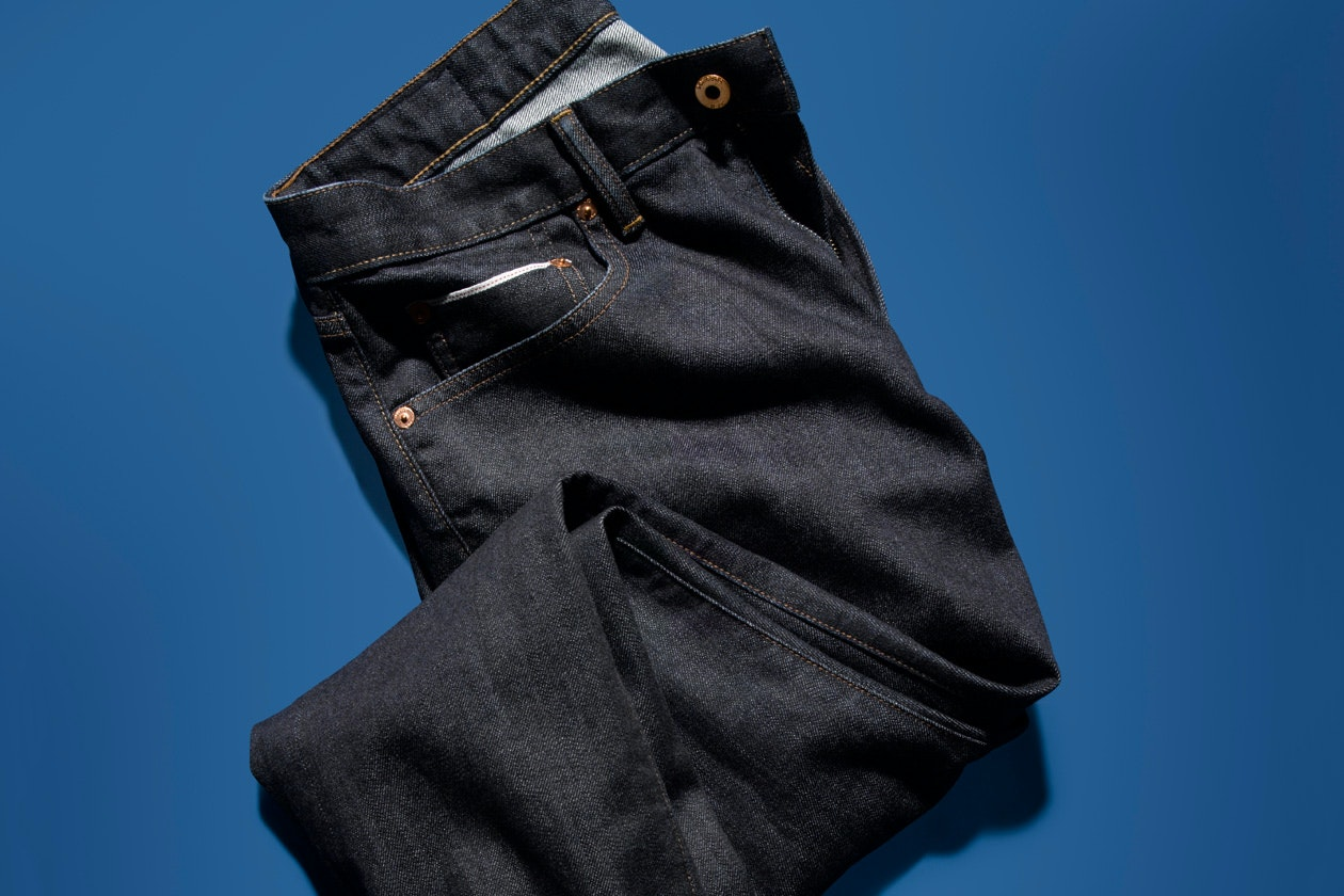 Selvage Stretch Jeans Hero Image