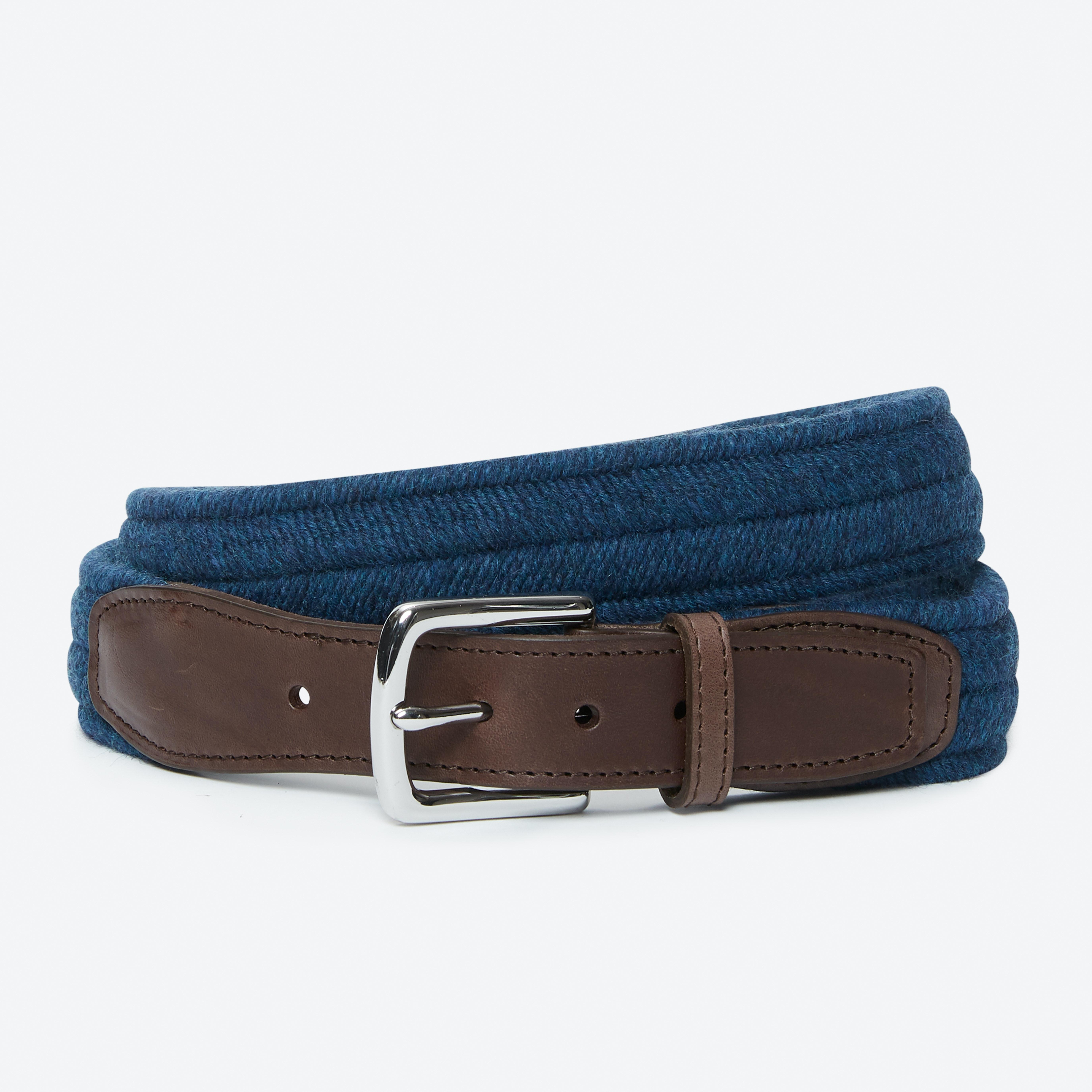 Braided Wool Belt