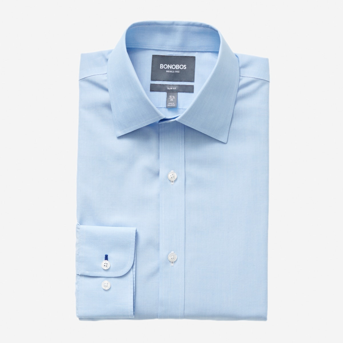Daily Grind Wrinkle Free Dress Shirt Pocket Bonobos