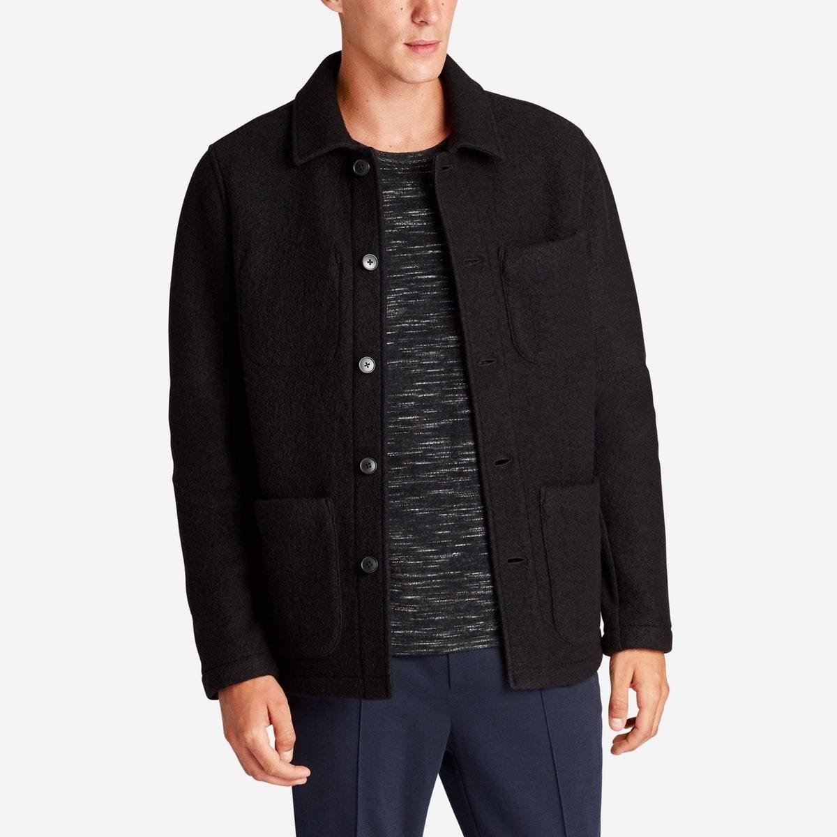 The Boucle Sweater Jacket