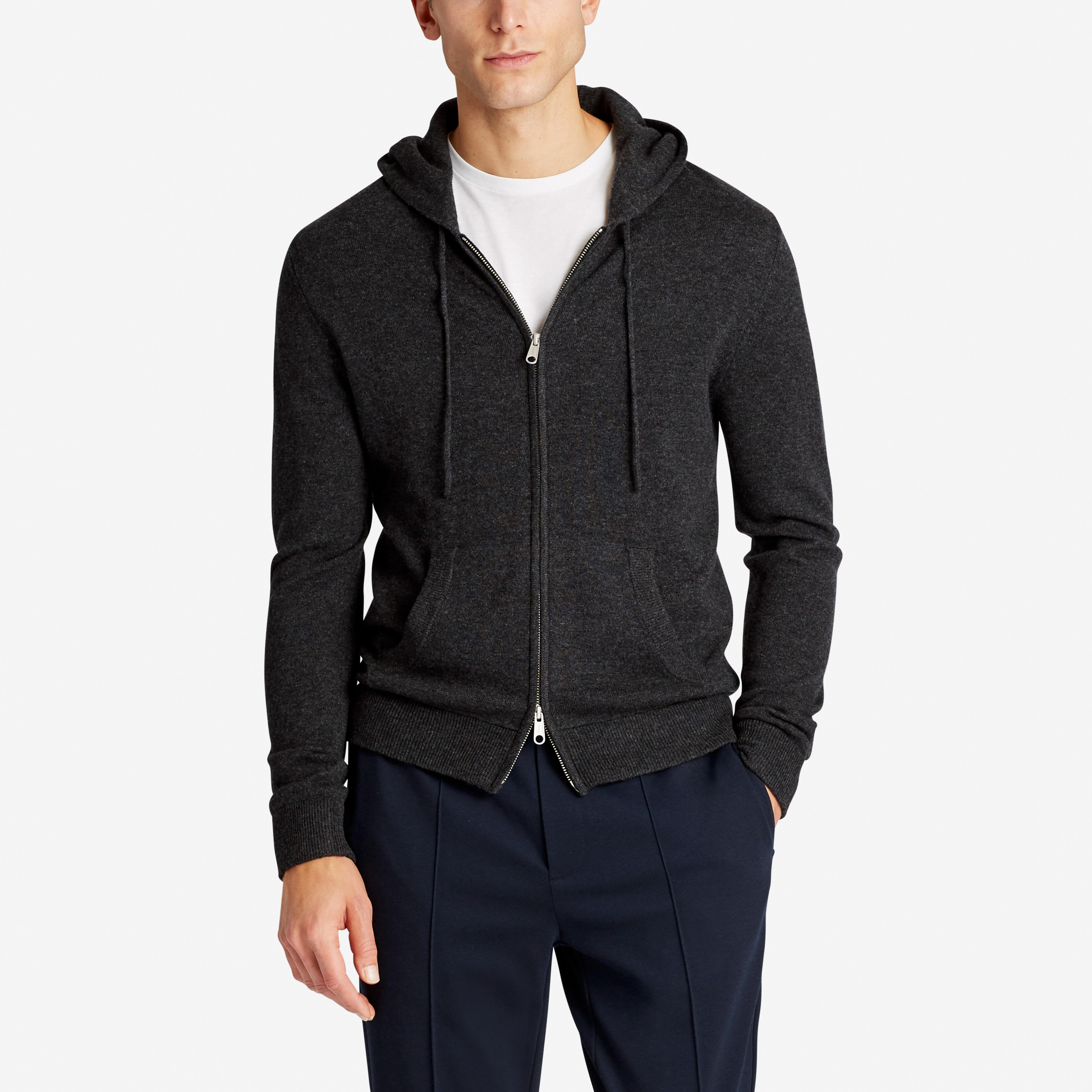 Wool Cashmere Sweater Hoodie | Bonobos