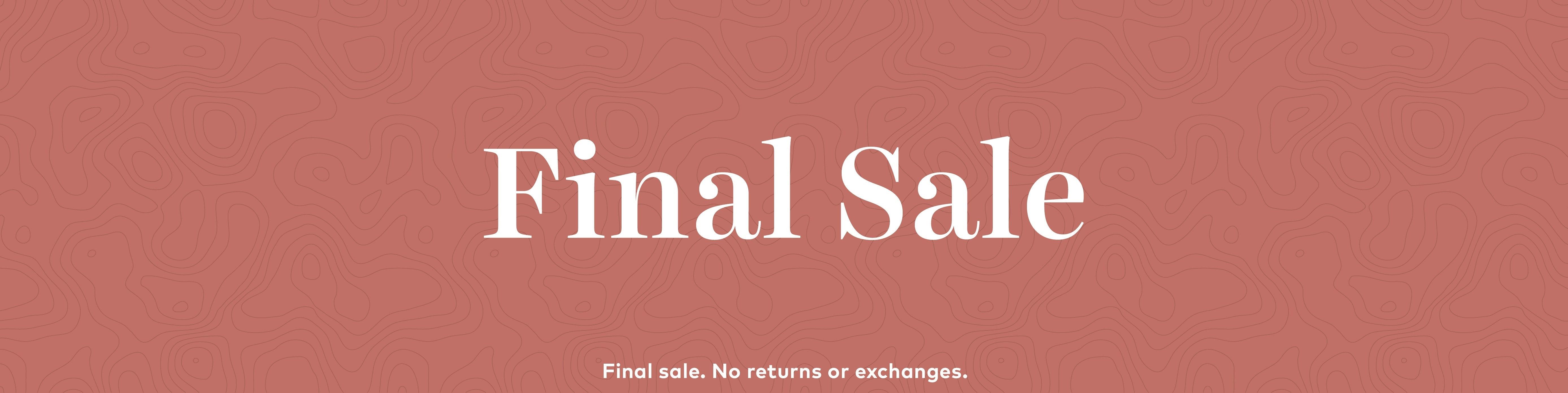 Final Sale Hero Image