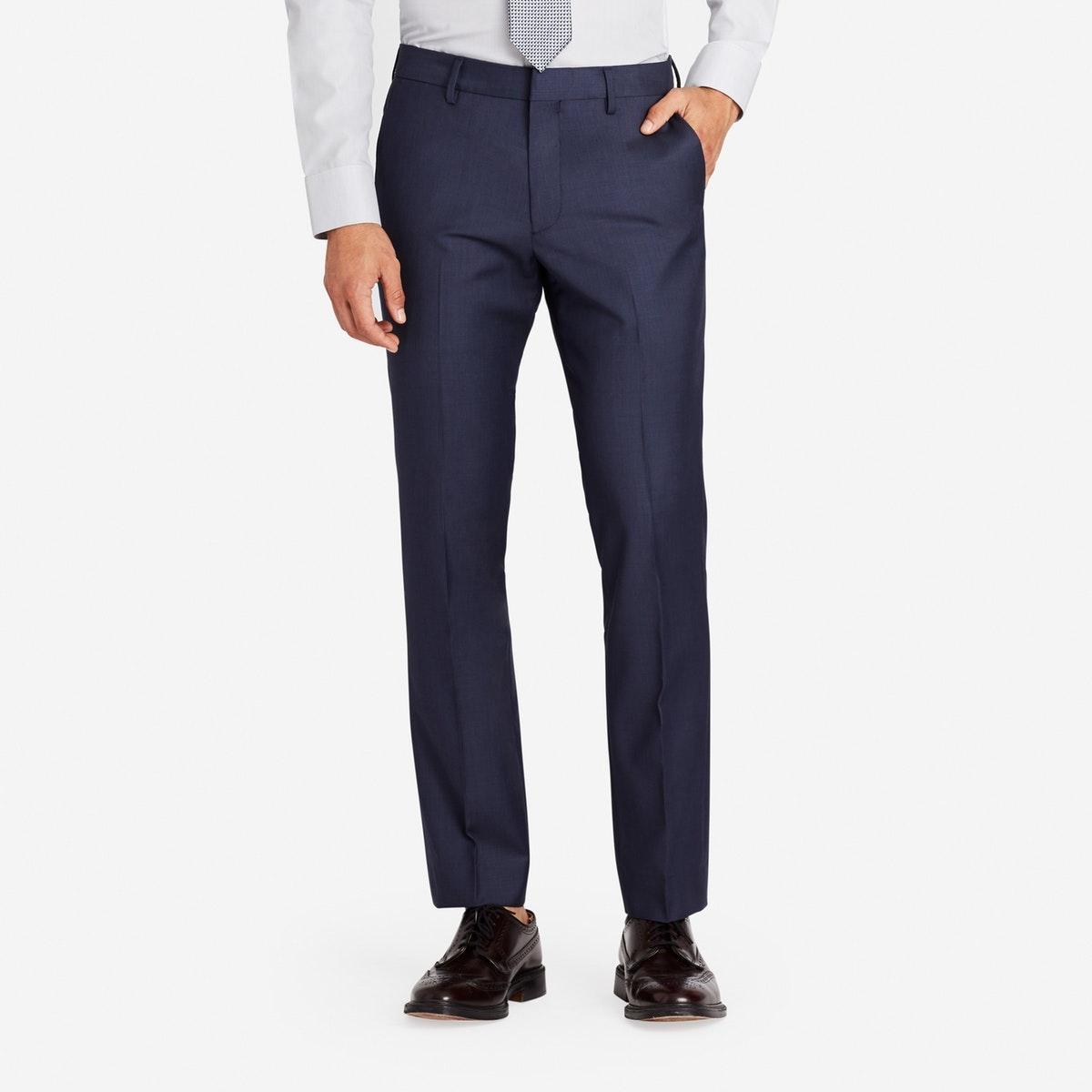 Foundation Italian Wool Suit Pant