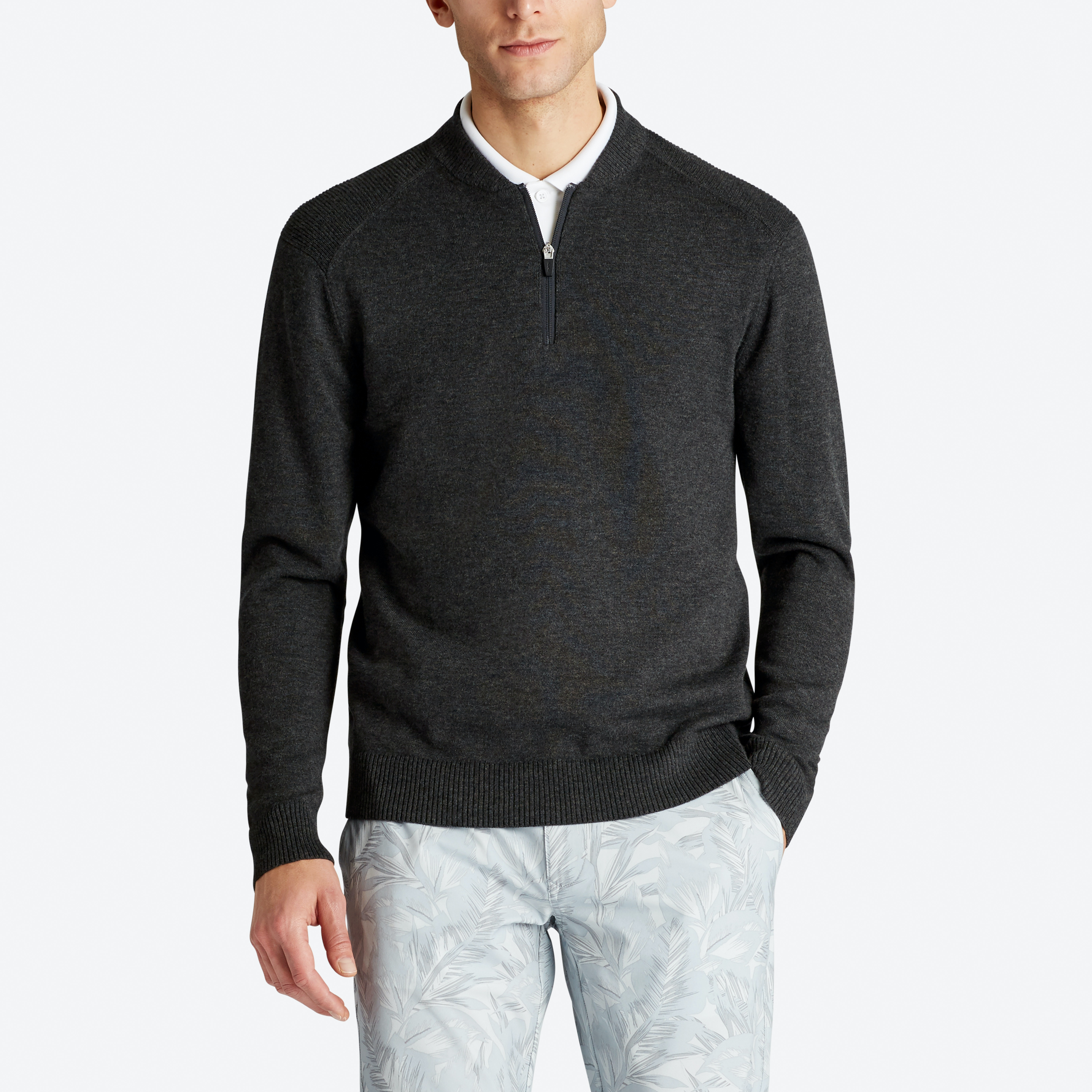 Knockdown Club Collar Golf Sweater