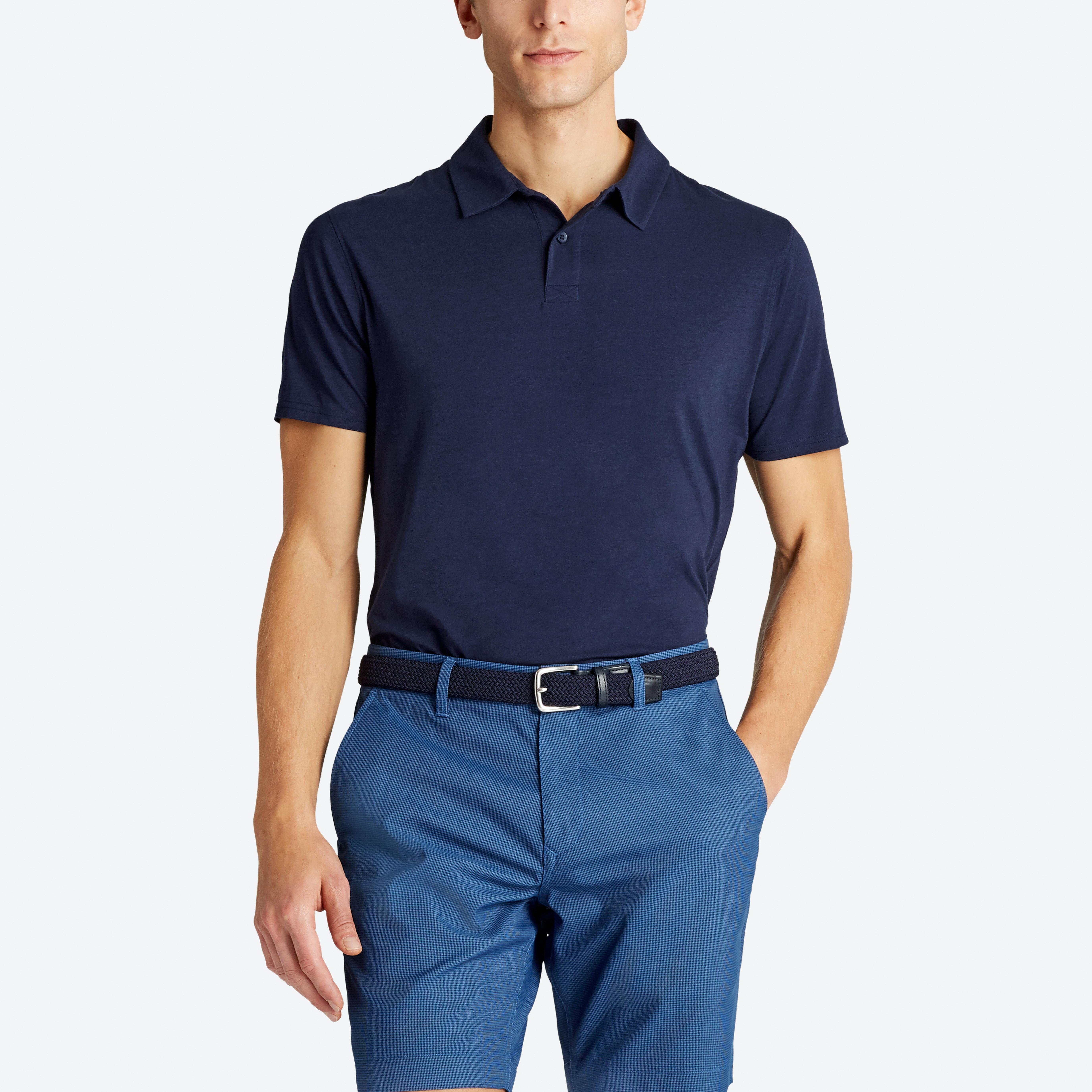 Stretch Pima Golf Polo