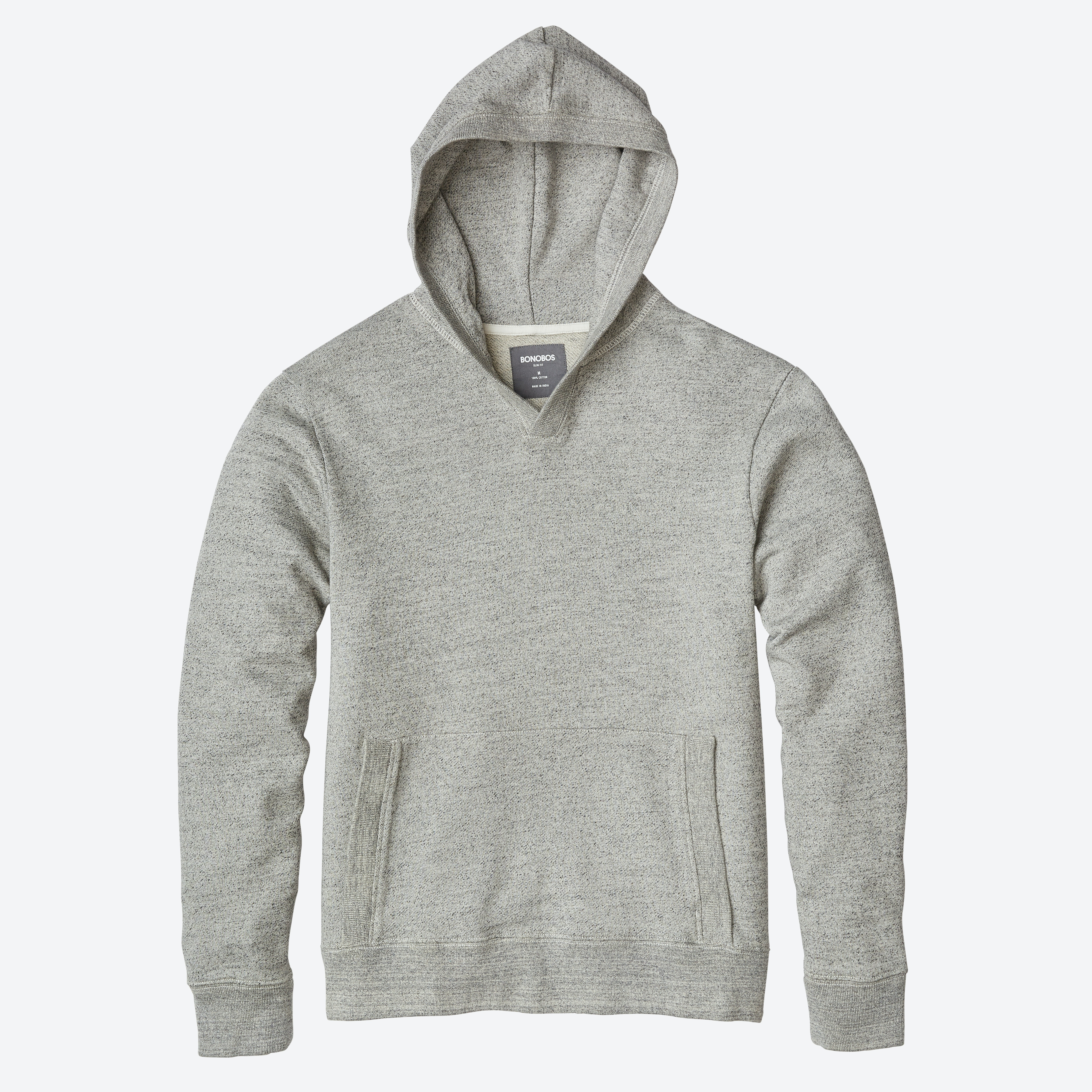 French Terry Popover Hoodie