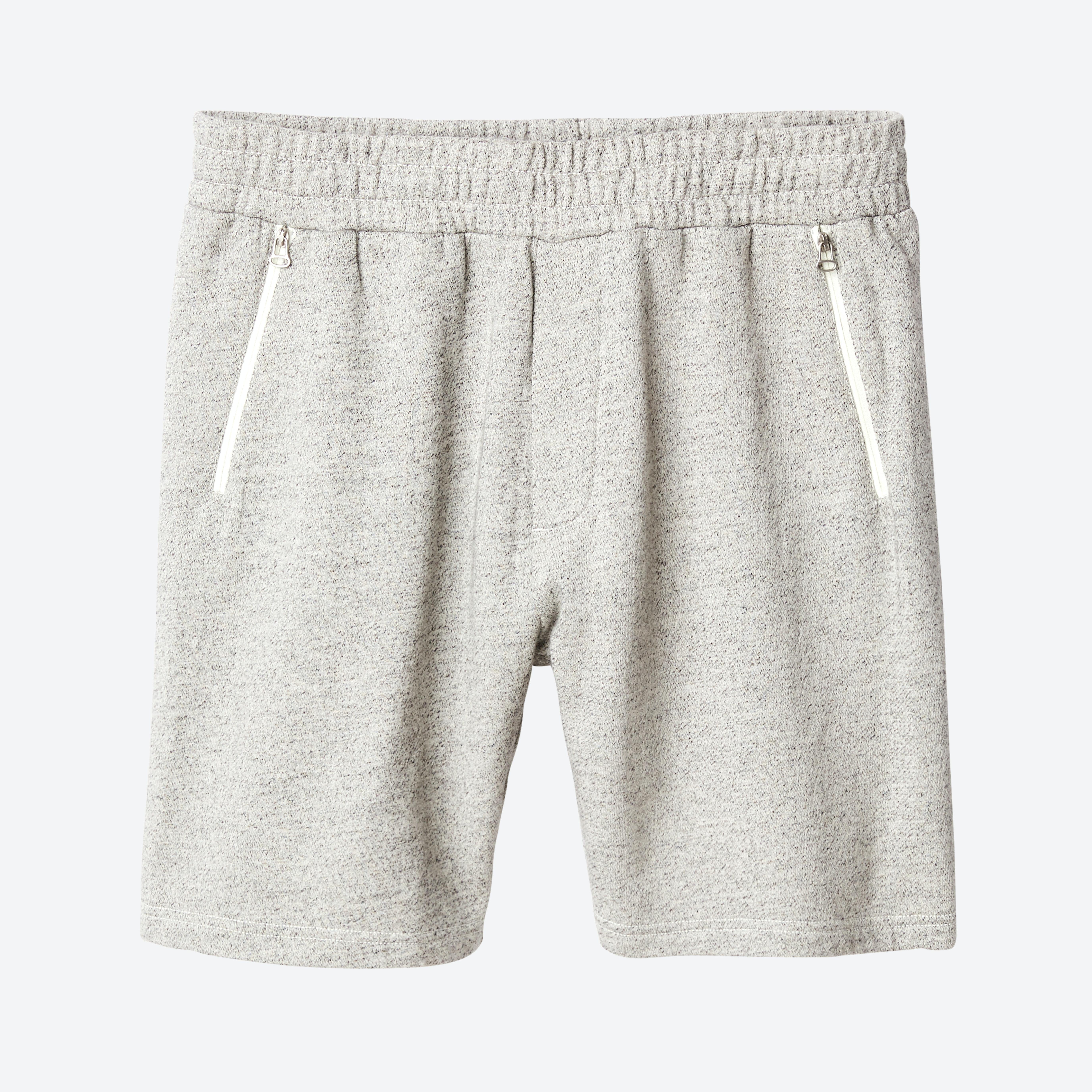 Nomad Zip Sweat Shorts