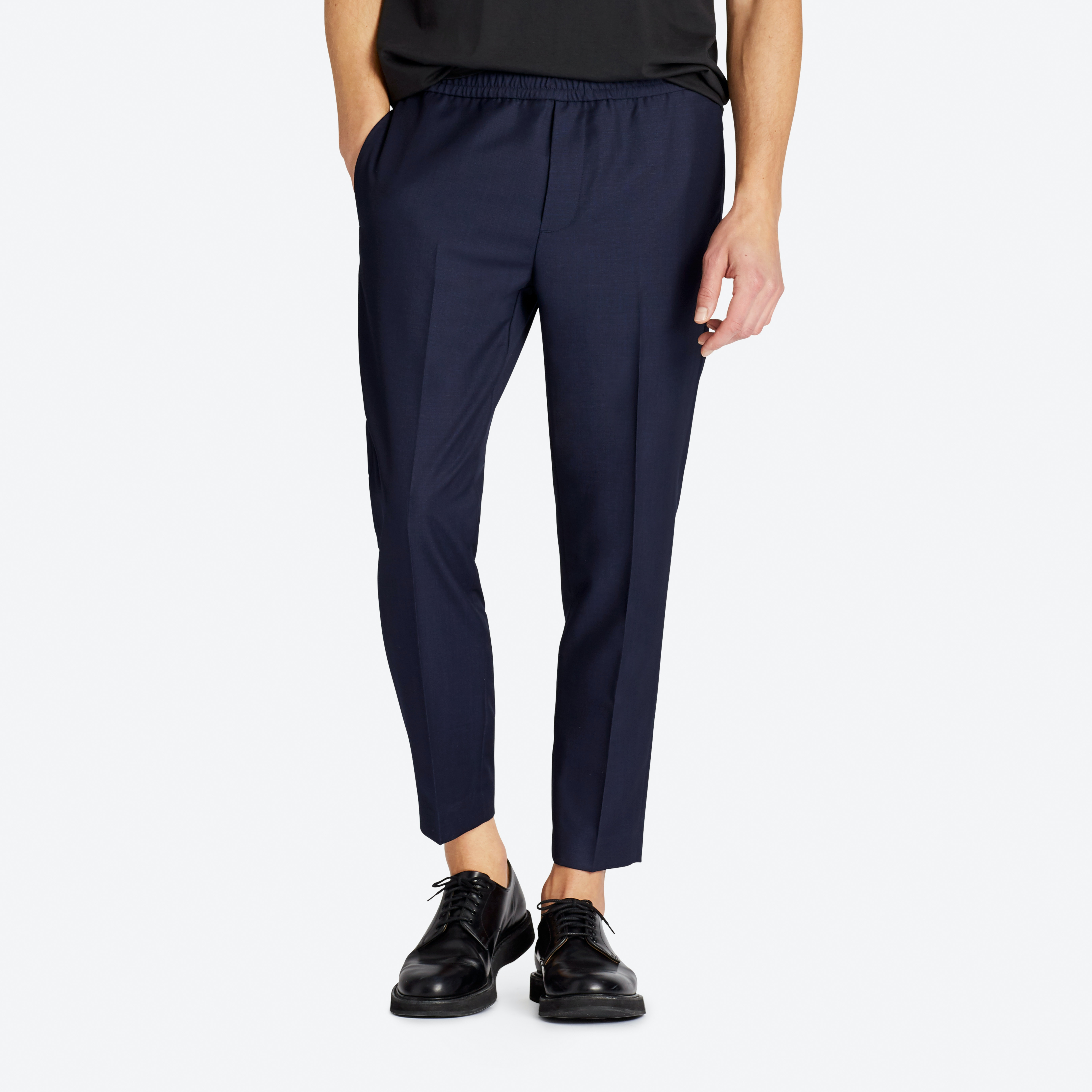 Wool E-Waist Trousers