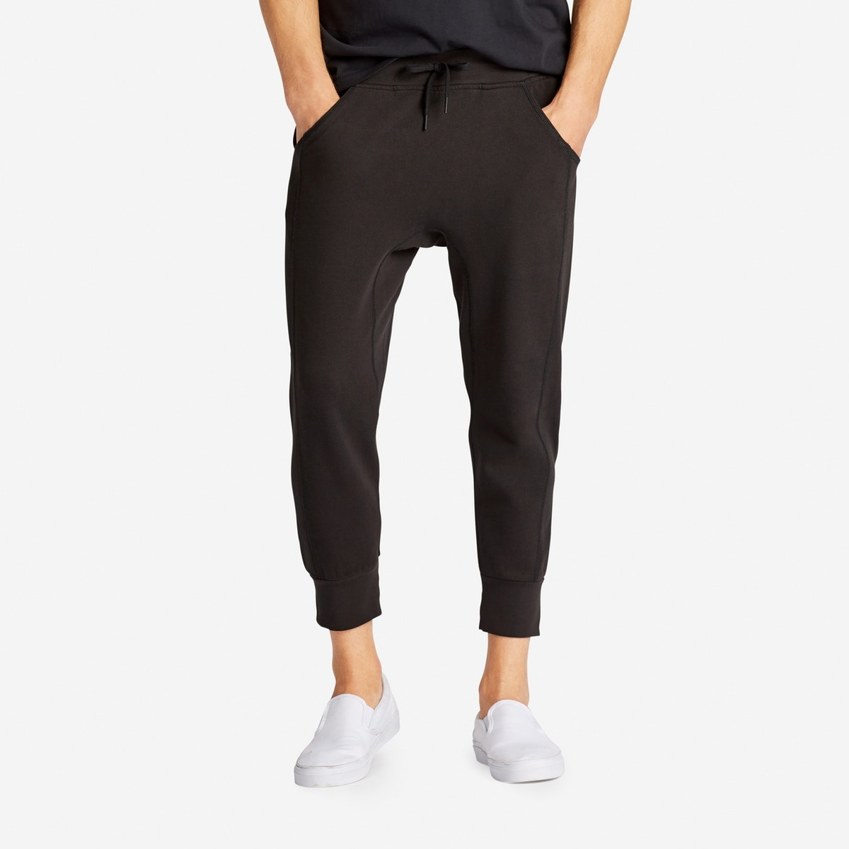 French Terry Cropped Sweatpant