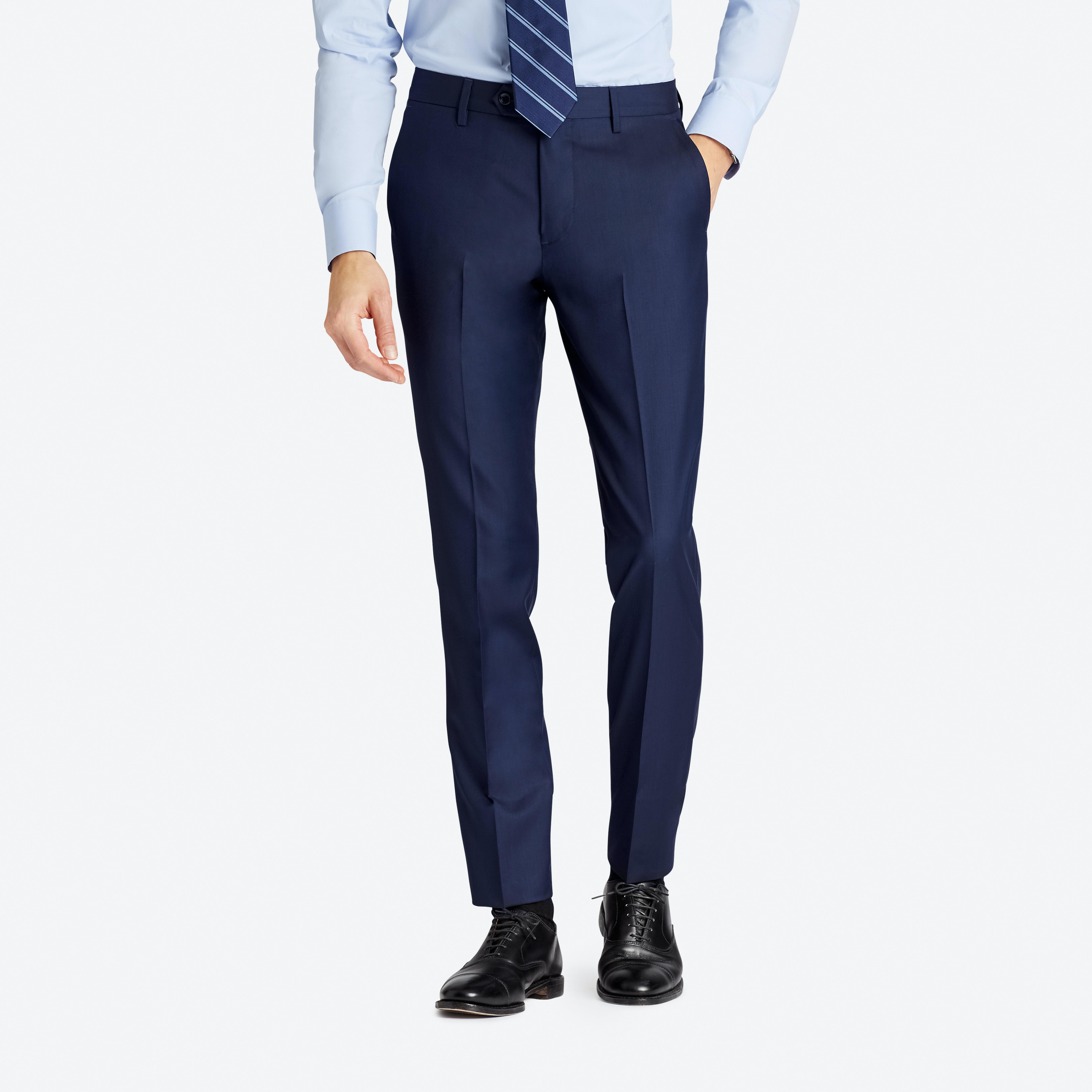 Premium Italian Wool Suit Pant thumbnail
