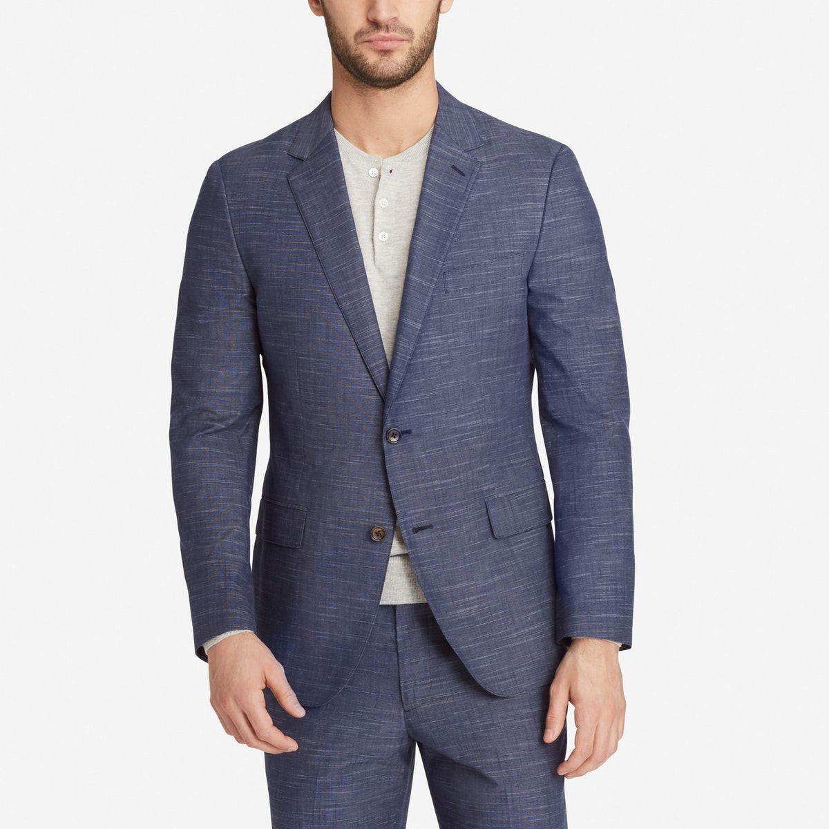 Foundation Chambray Suit Jacket