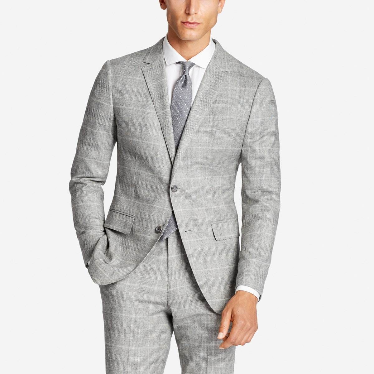 Jetsetter Stretch Italian Wool Suit Jacket
