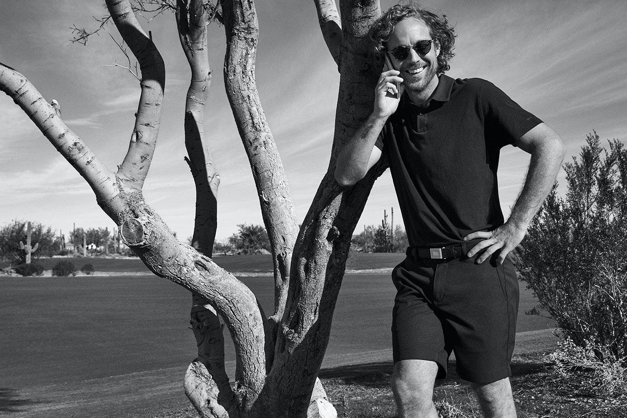 Highland Golf Shorts Hero Image