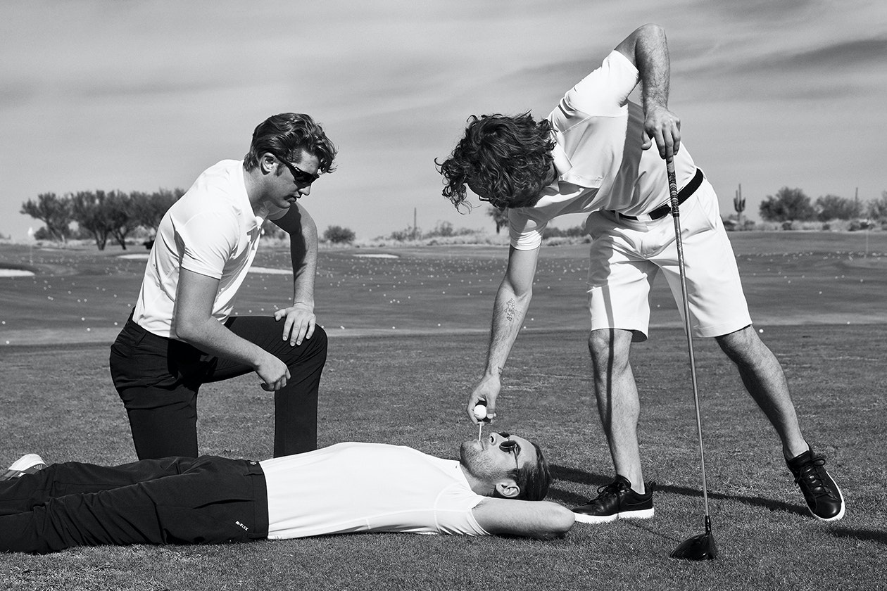 Editorial photo for Golf Shorts category